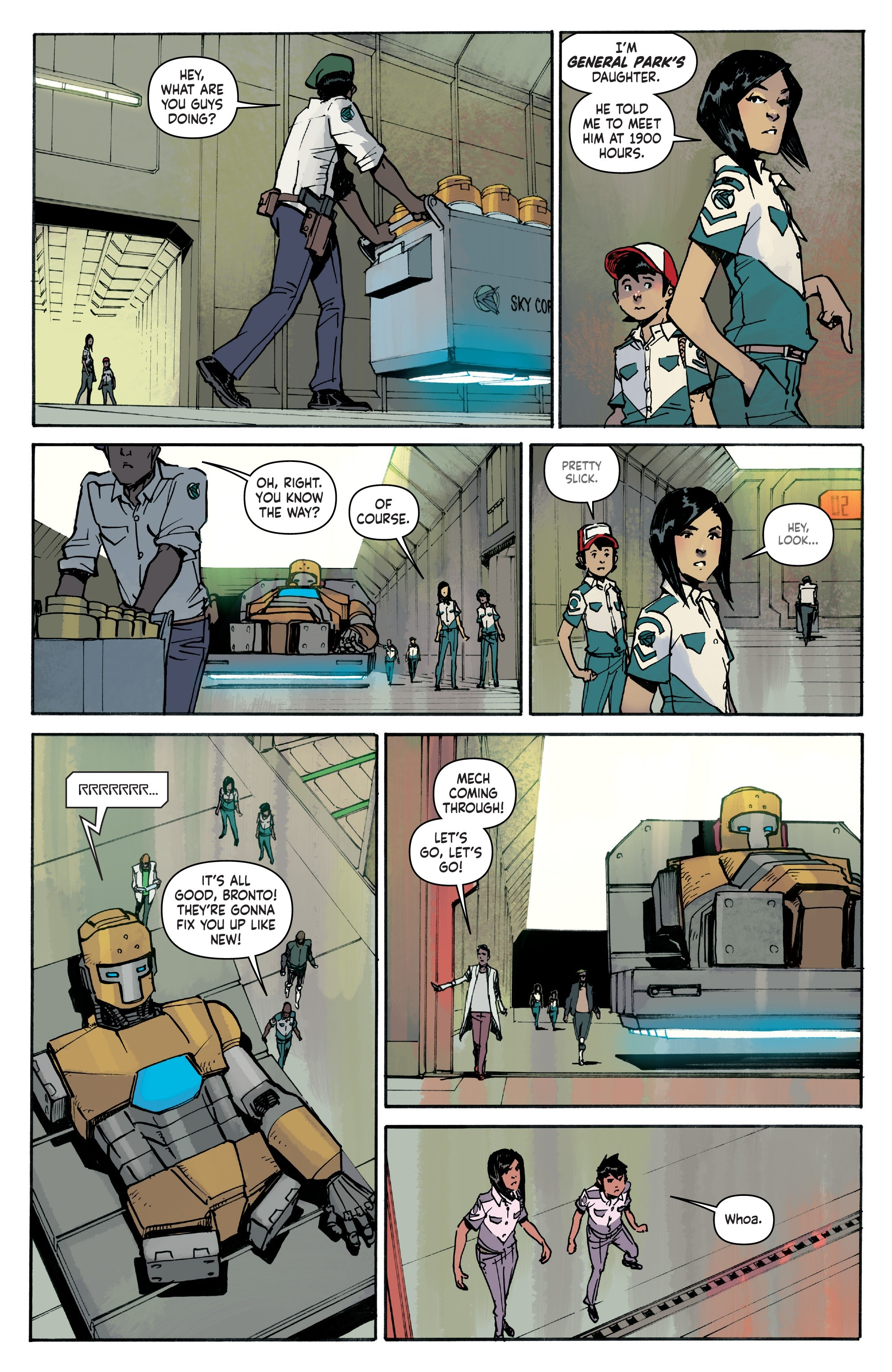 Mech Cadet Yu #_TPB_2 #15 - English 63