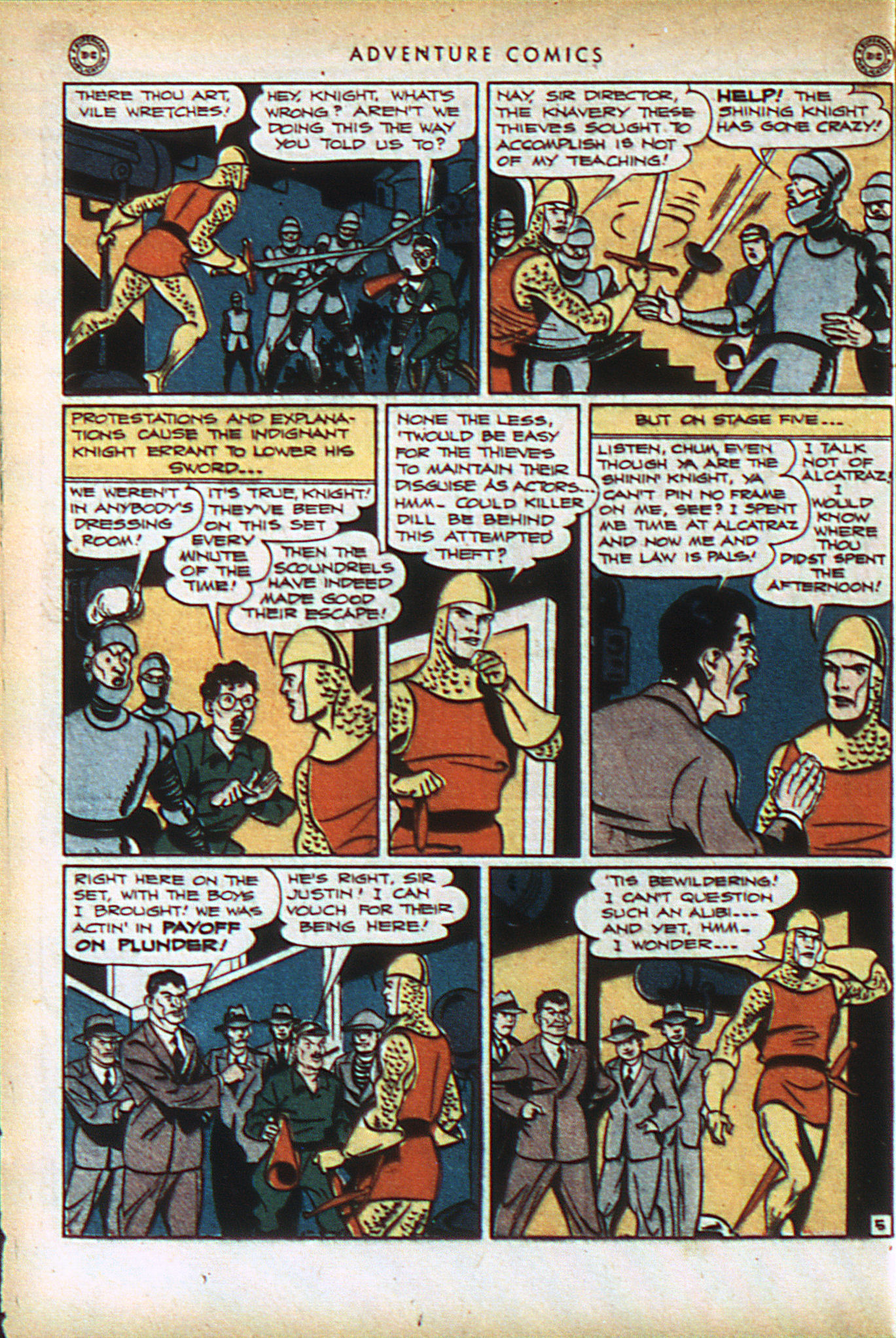 Read online Adventure Comics (1938) comic -  Issue #93 - 19