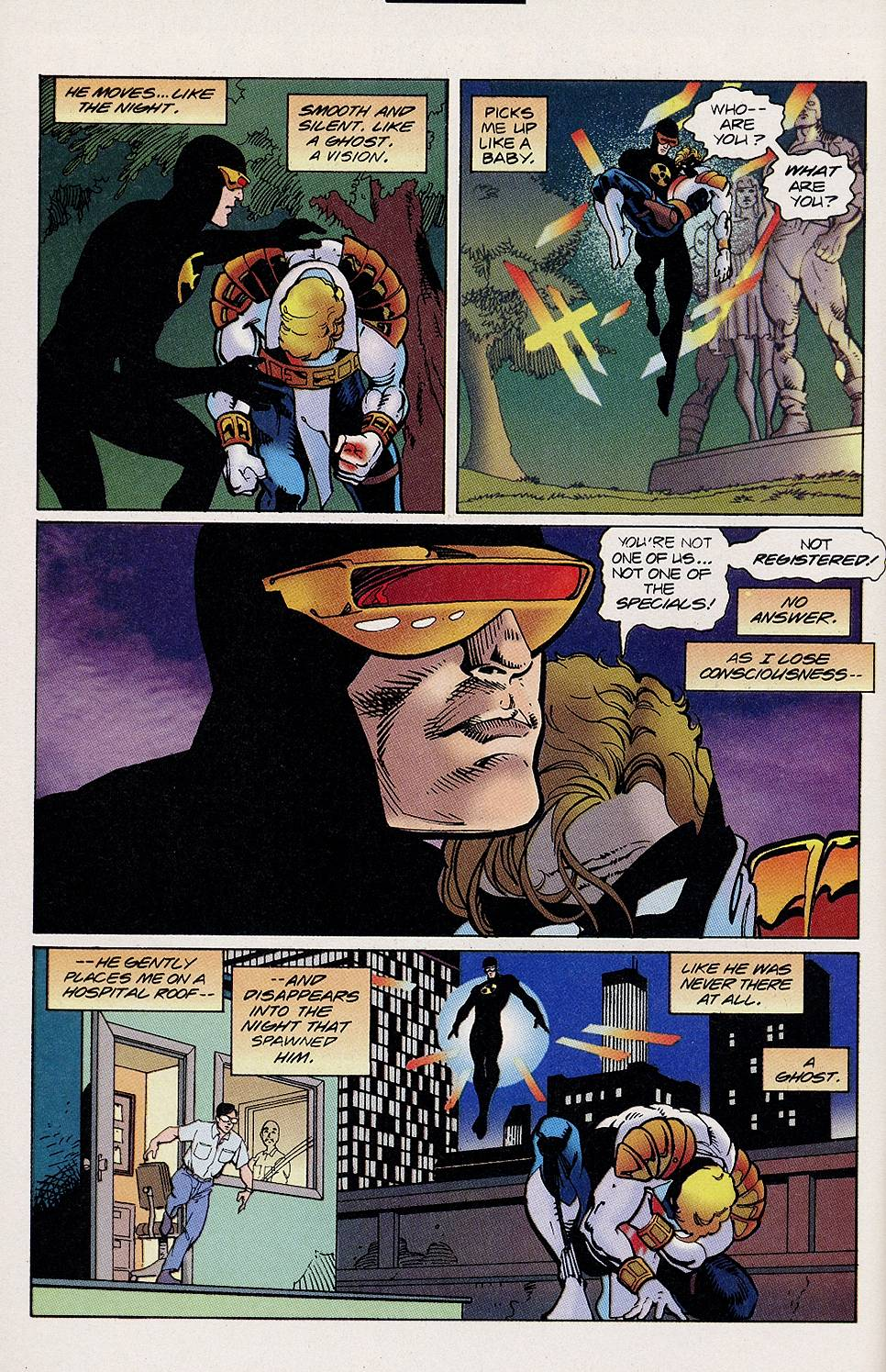 Read online Solar, Man of the Atom comic -  Issue #46 - 10