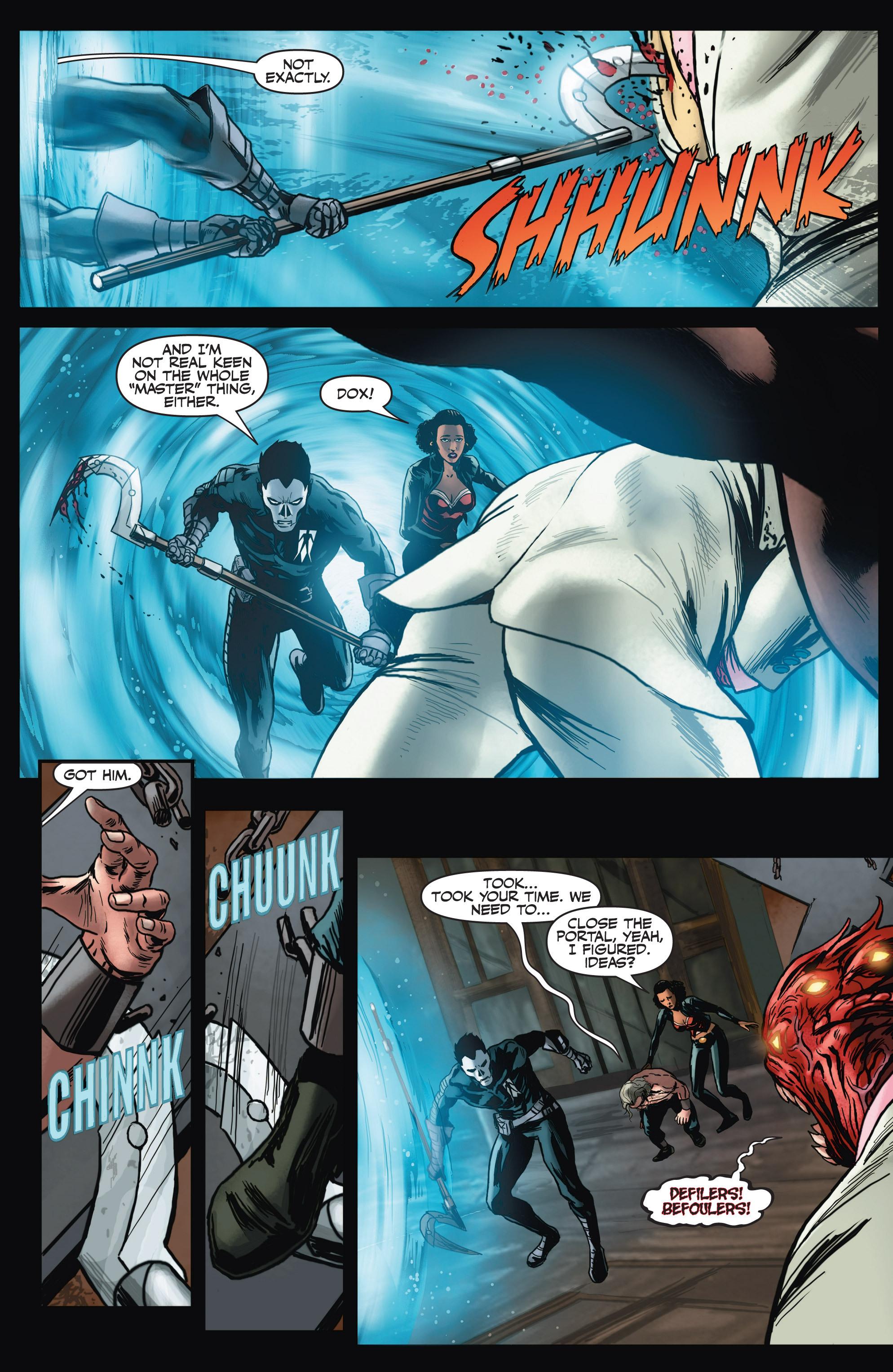 Read online Shadowman (2012) comic -  Issue #4 - 11