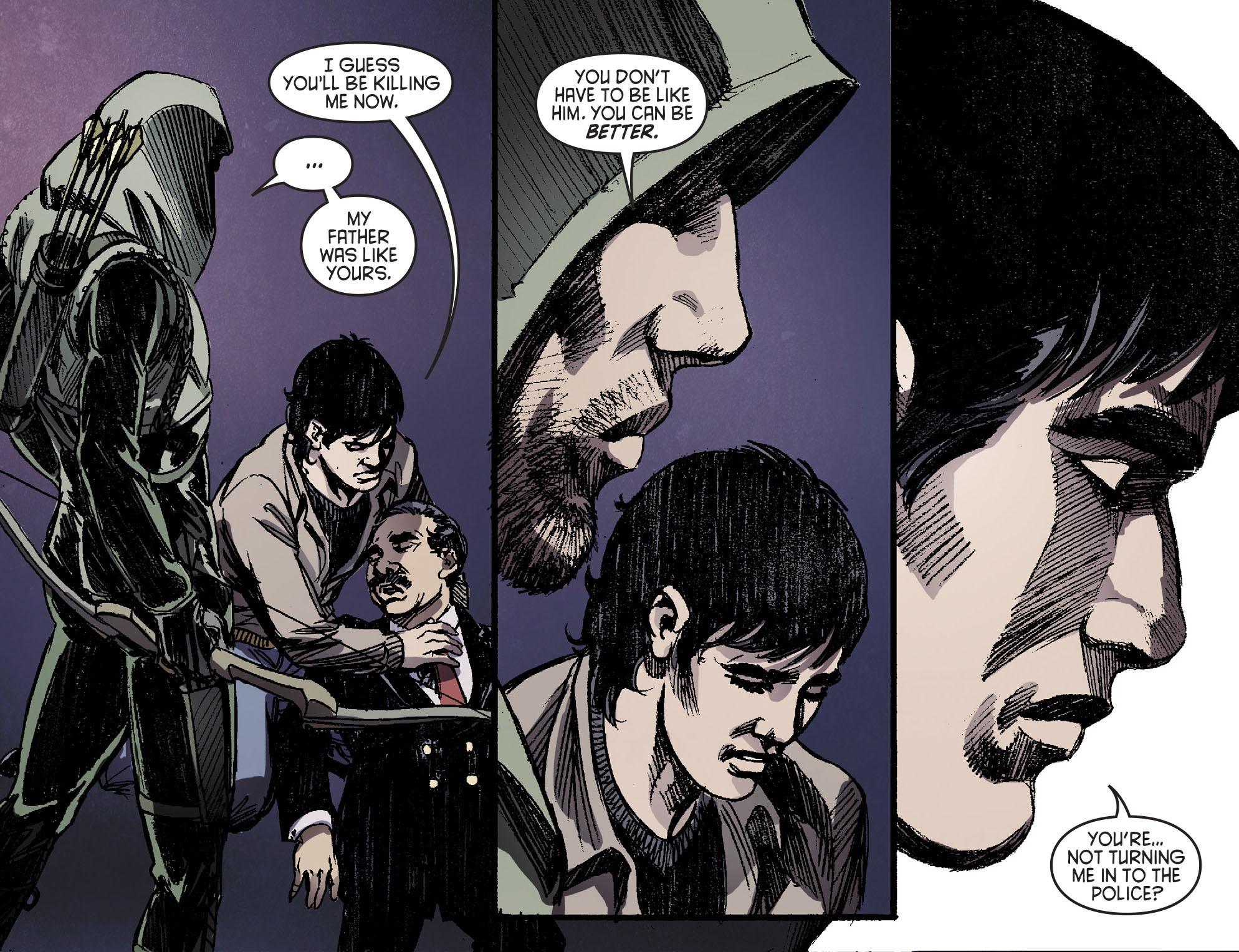 Read online Arrow [II] comic -  Issue #16 - 21