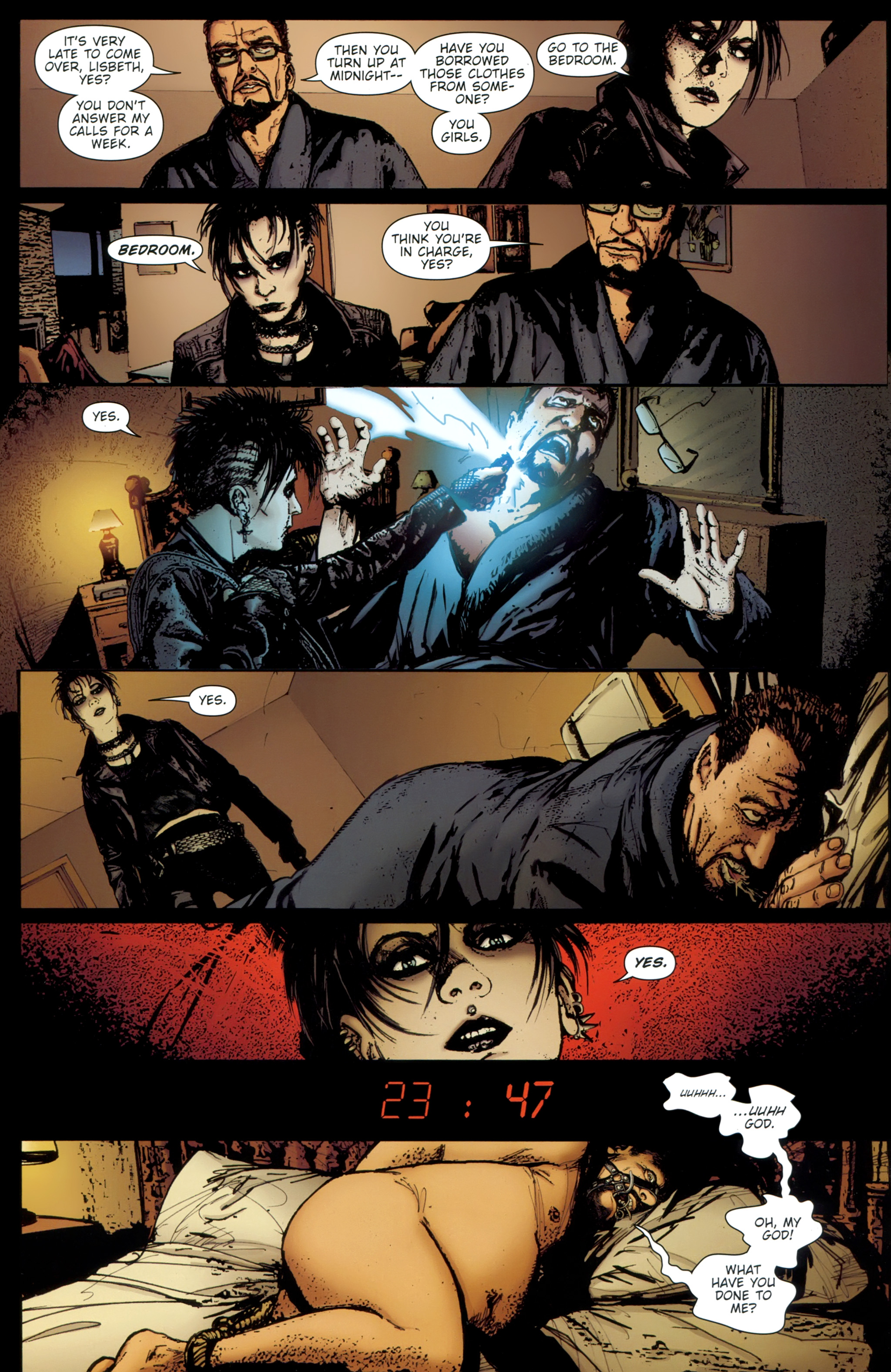 Read online The Girl With the Dragon Tattoo comic -  Issue # TPB 1 - 141