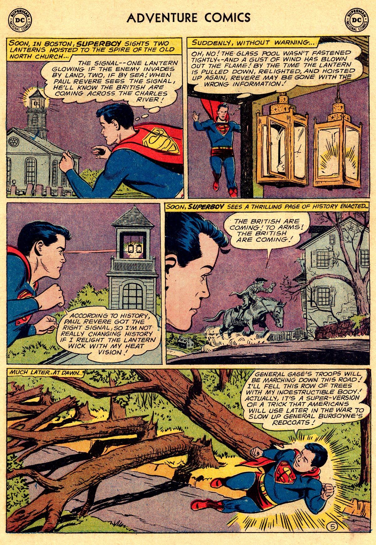 Read online Adventure Comics (1938) comic -  Issue #296 - 7