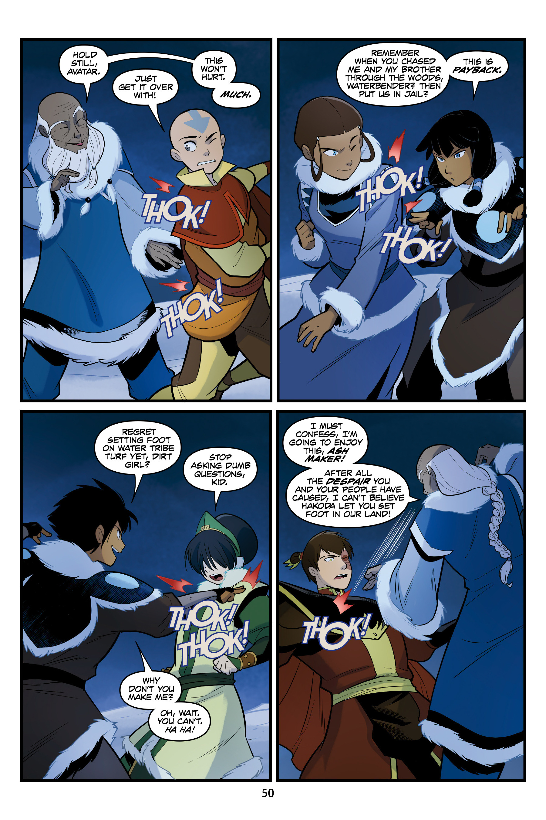 Read online Nickelodeon Avatar: The Last Airbender - North and South comic -  Issue #3 - 50