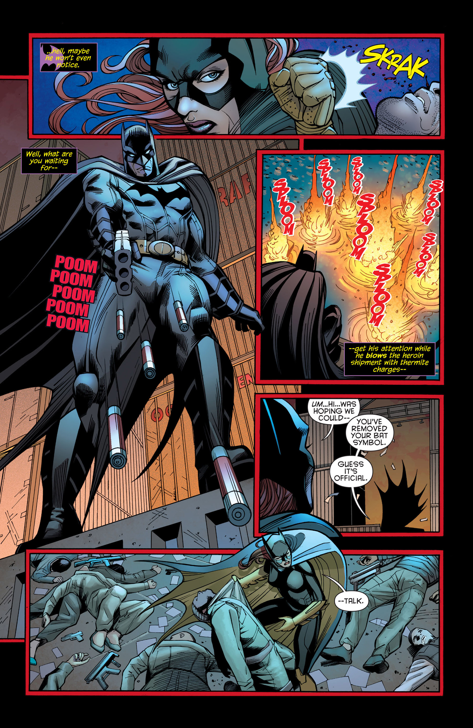 Read online Batman and Robin (2011) comic -  Issue #21 - Batman and Batgirl - 5