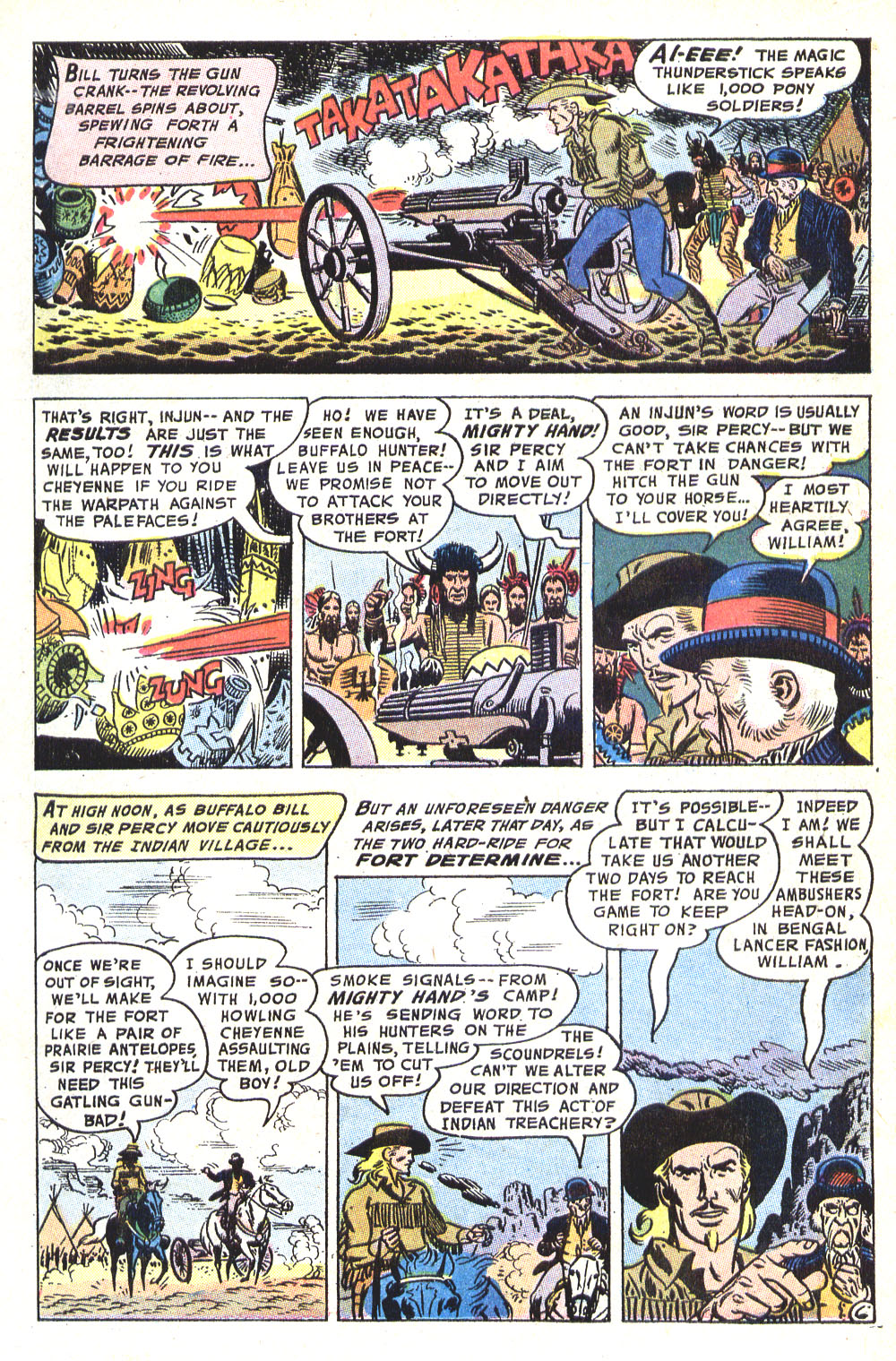 Read online All-Star Western (1970) comic -  Issue #8 - 21