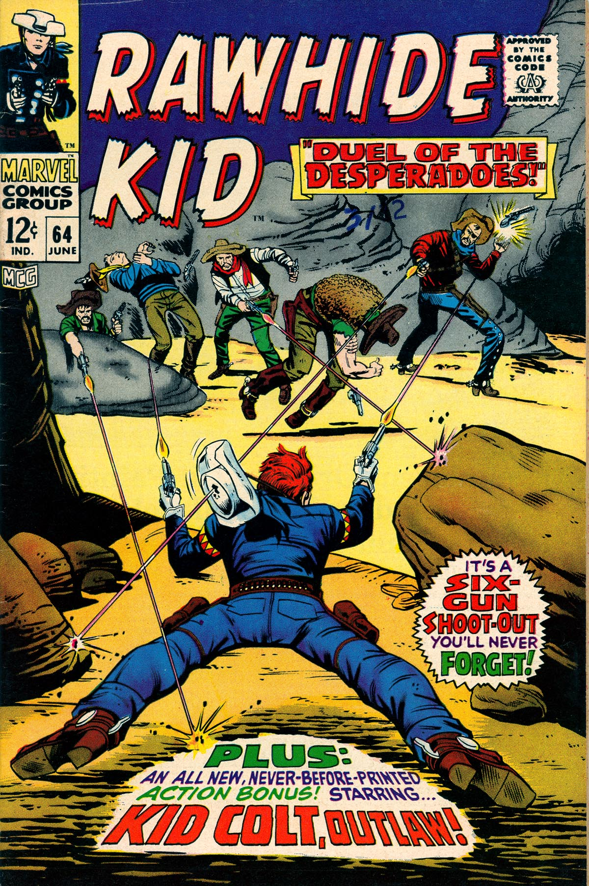 The Rawhide Kid (1955) 64 Page 1