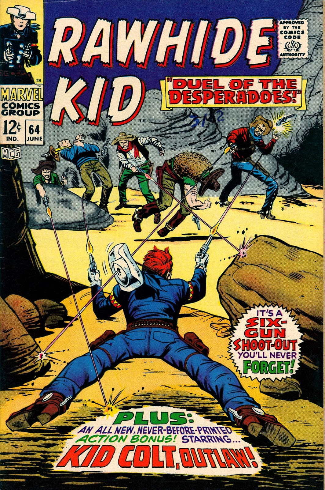 The Rawhide Kid (1955) issue 64 - Page 1
