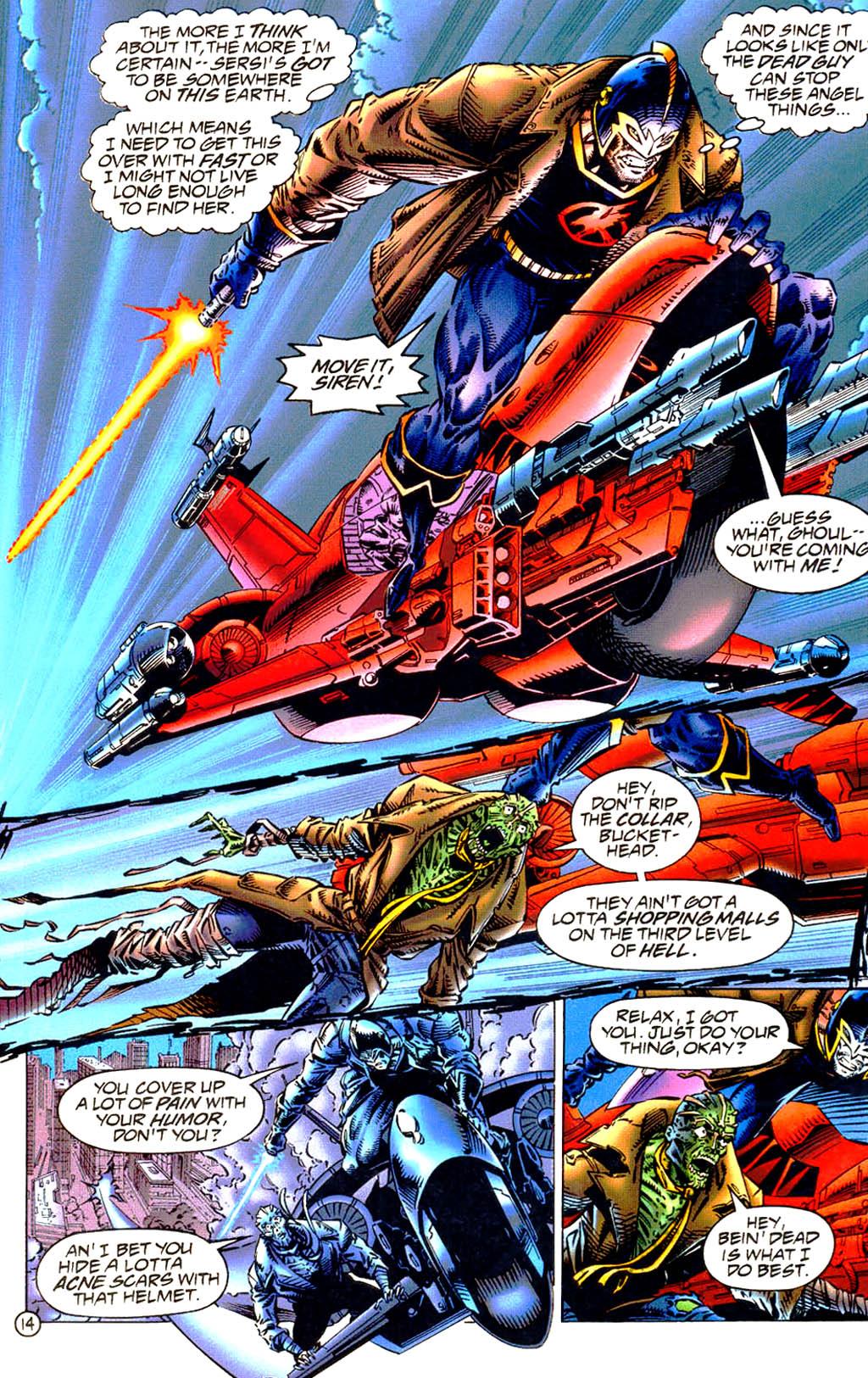 Read online UltraForce (1994) comic -  Issue #9 - 15