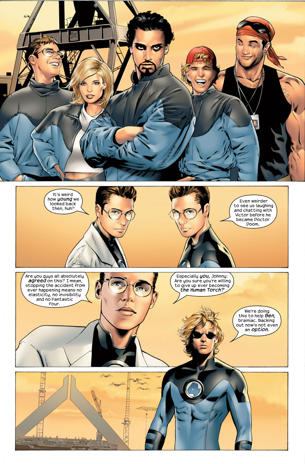 Read online Ultimate Fantastic Four (2004) comic -  Issue #27 - 5