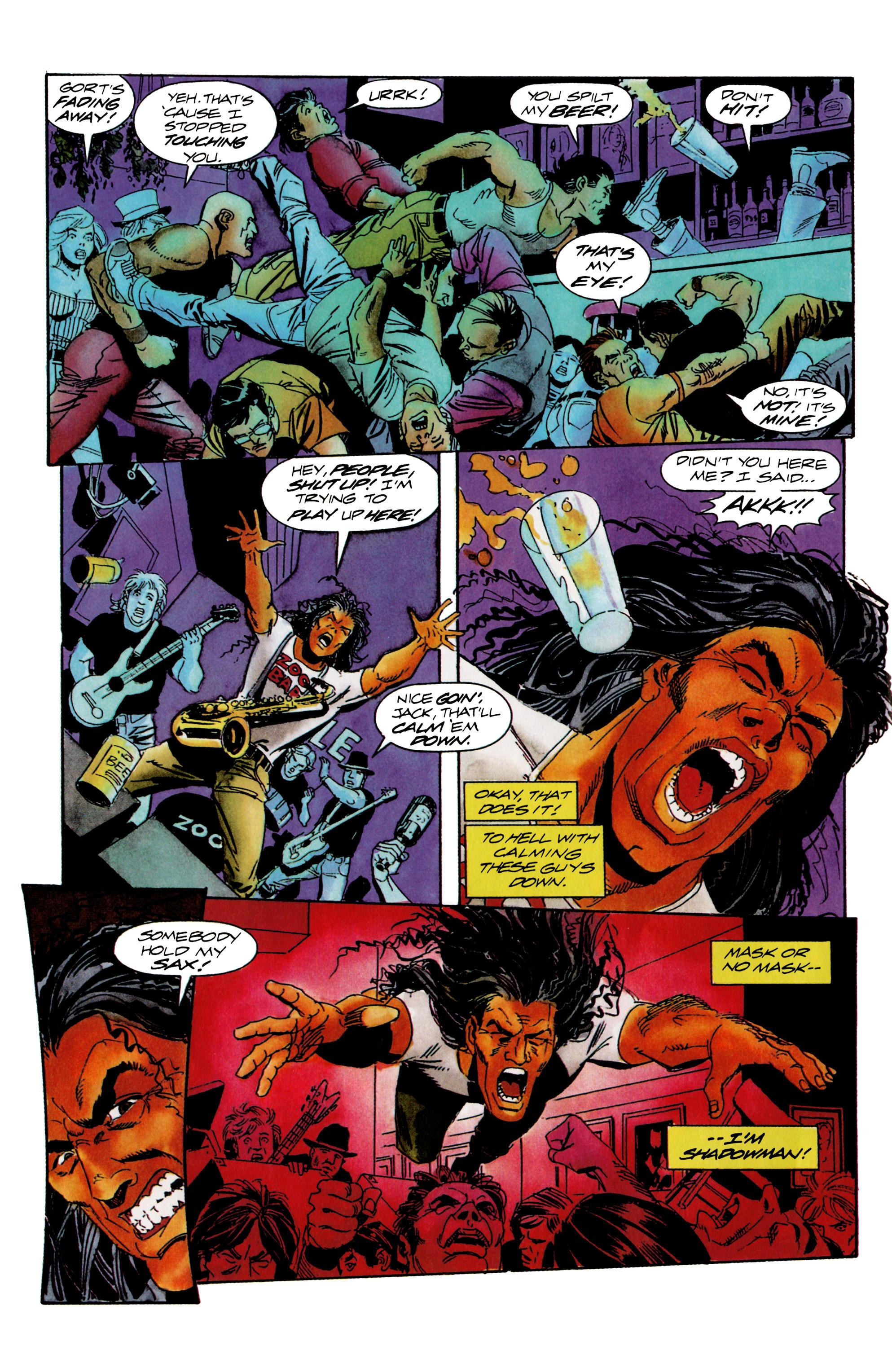 Read online Shadowman (1992) comic -  Issue #15 - 10
