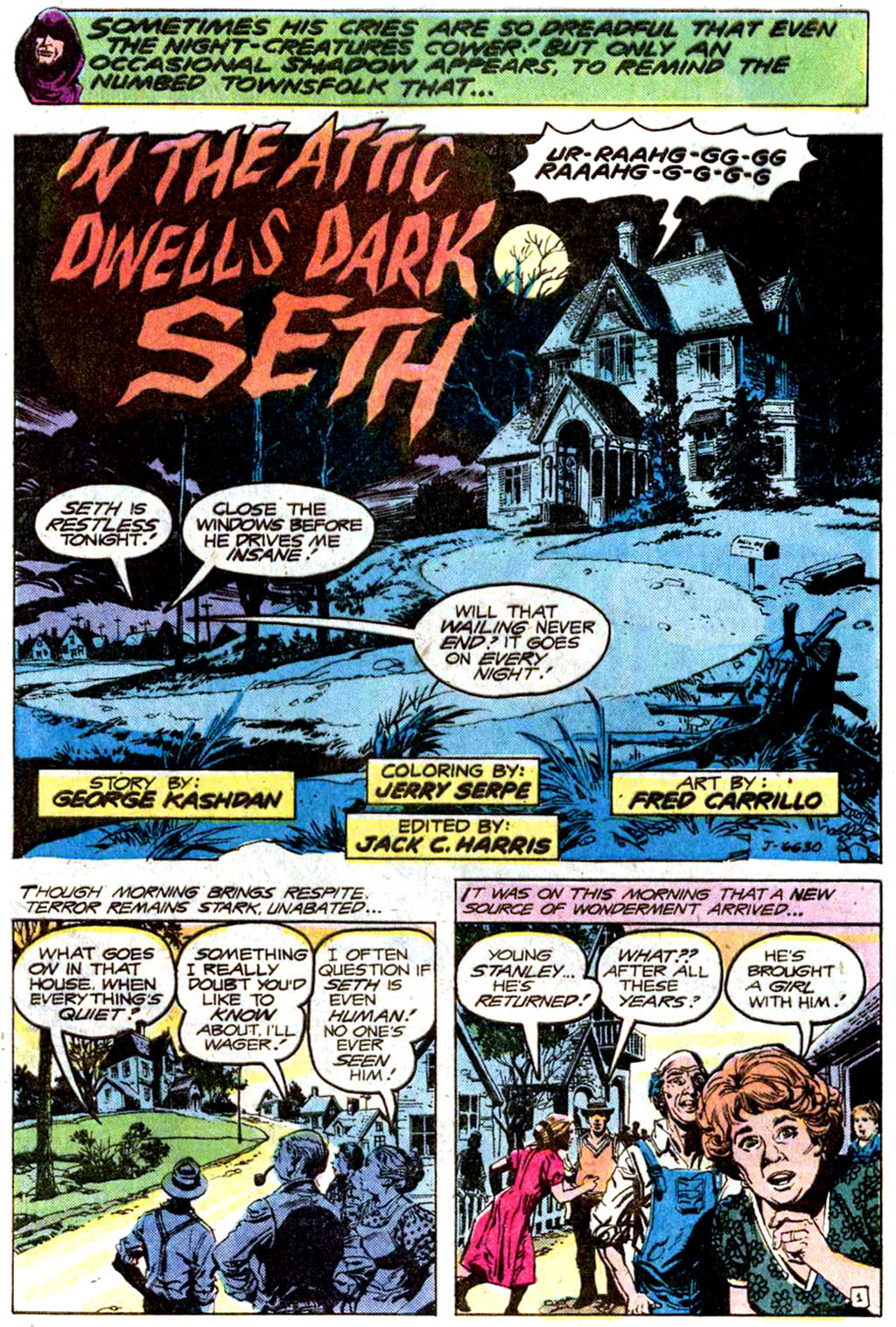 Read online Secrets of Haunted House comic -  Issue #33 - 4