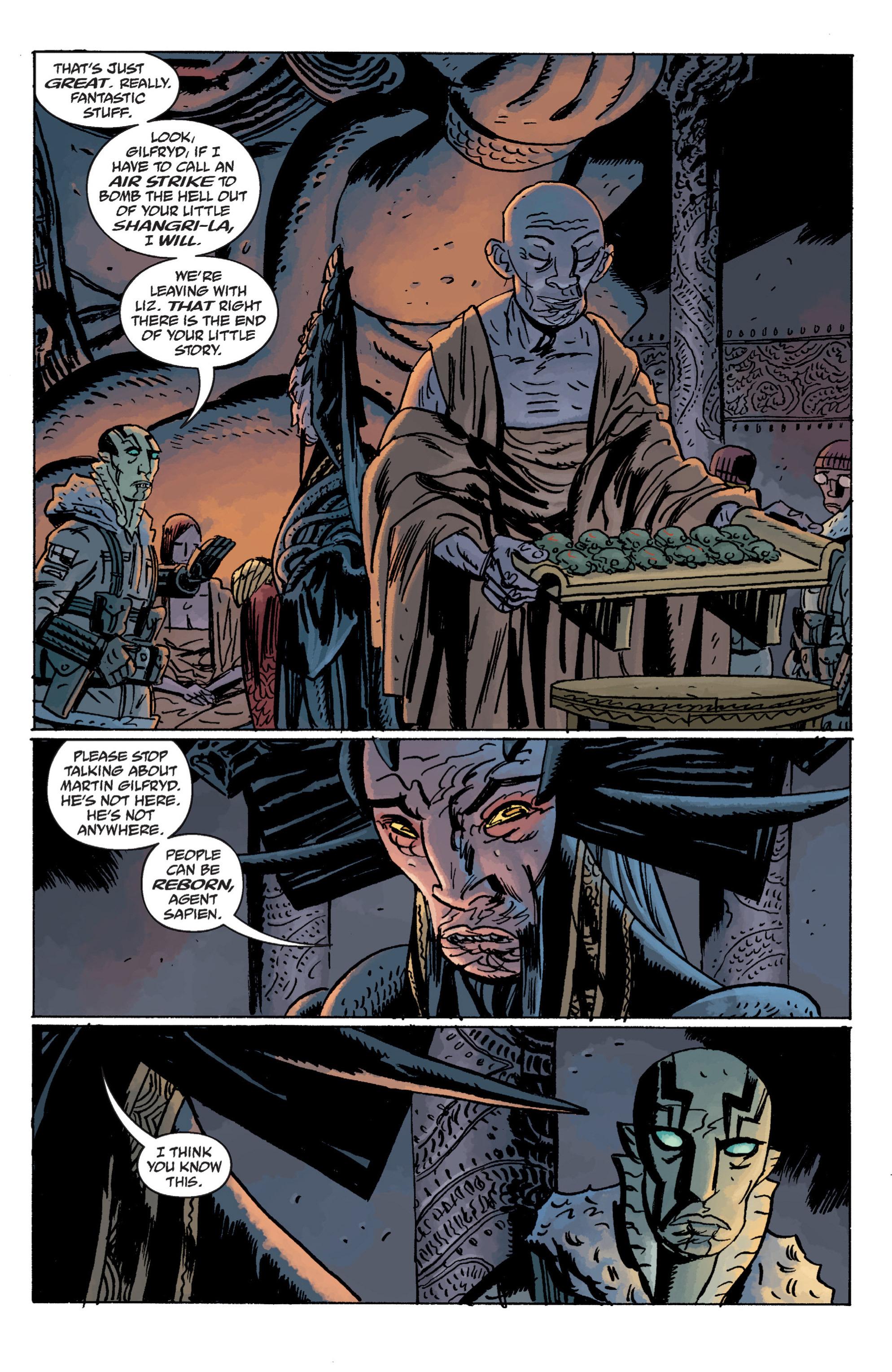 Read online B.P.R.D. (2003) comic -  Issue # TPB 11 - 64