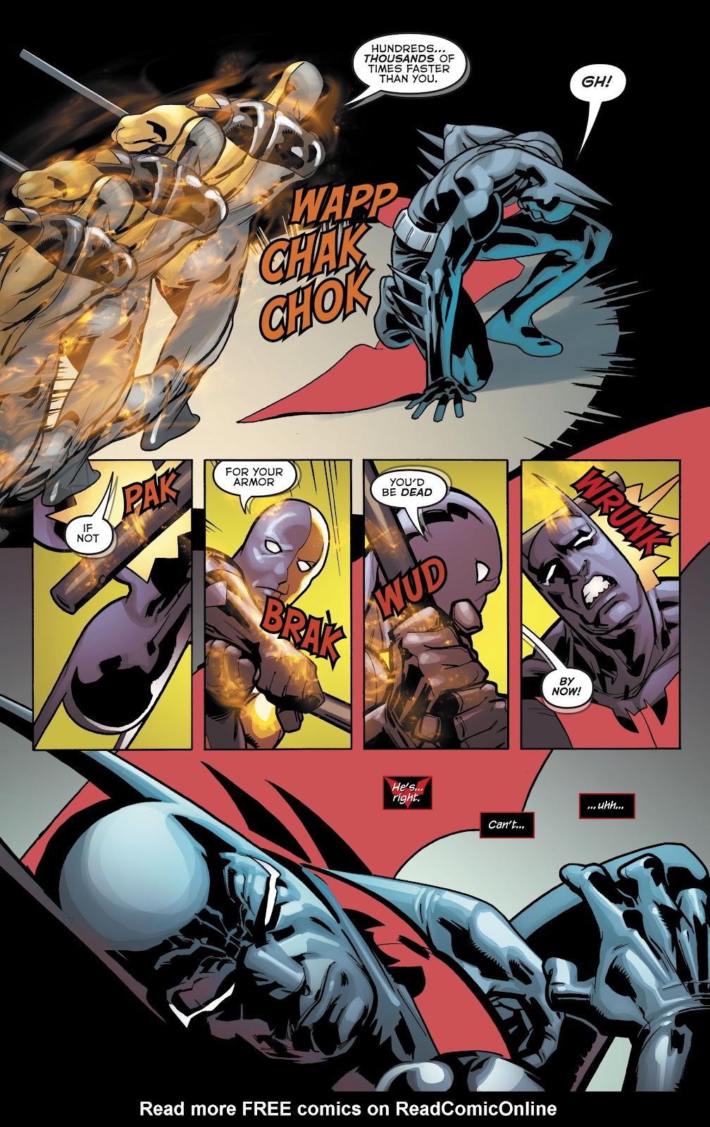 Read online Batman Beyond (2016) comic -  Issue #32 - 19