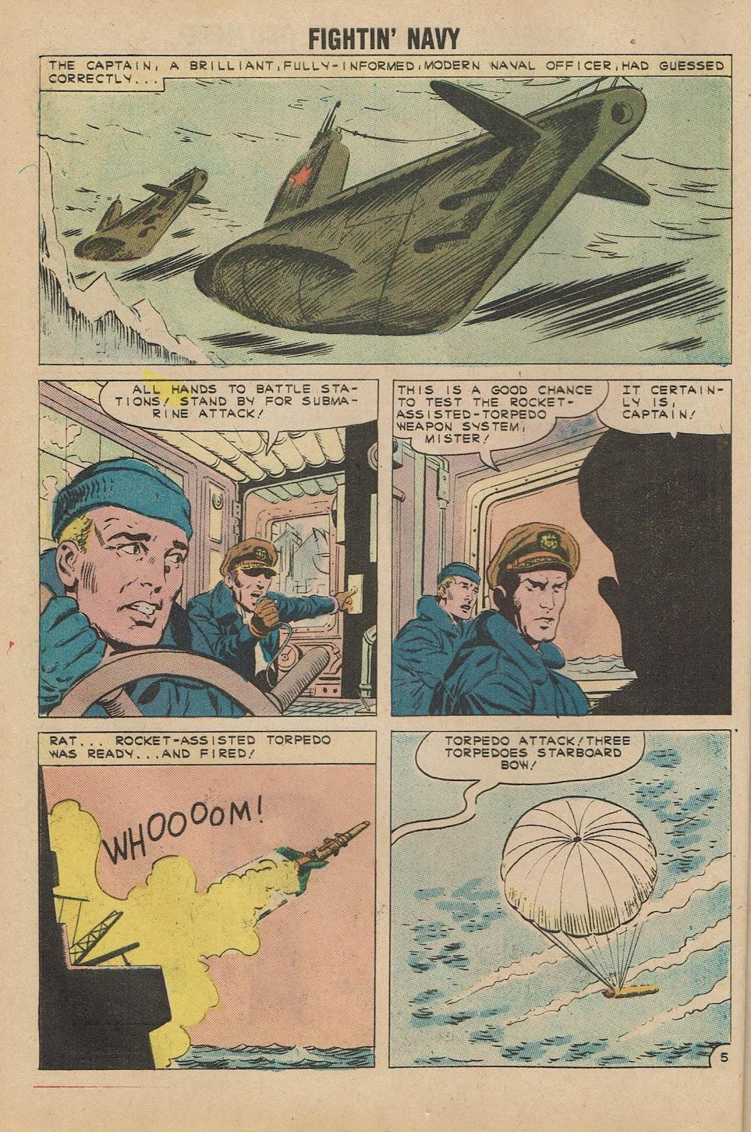 Read online Fightin' Navy comic -  Issue #98 - 8
