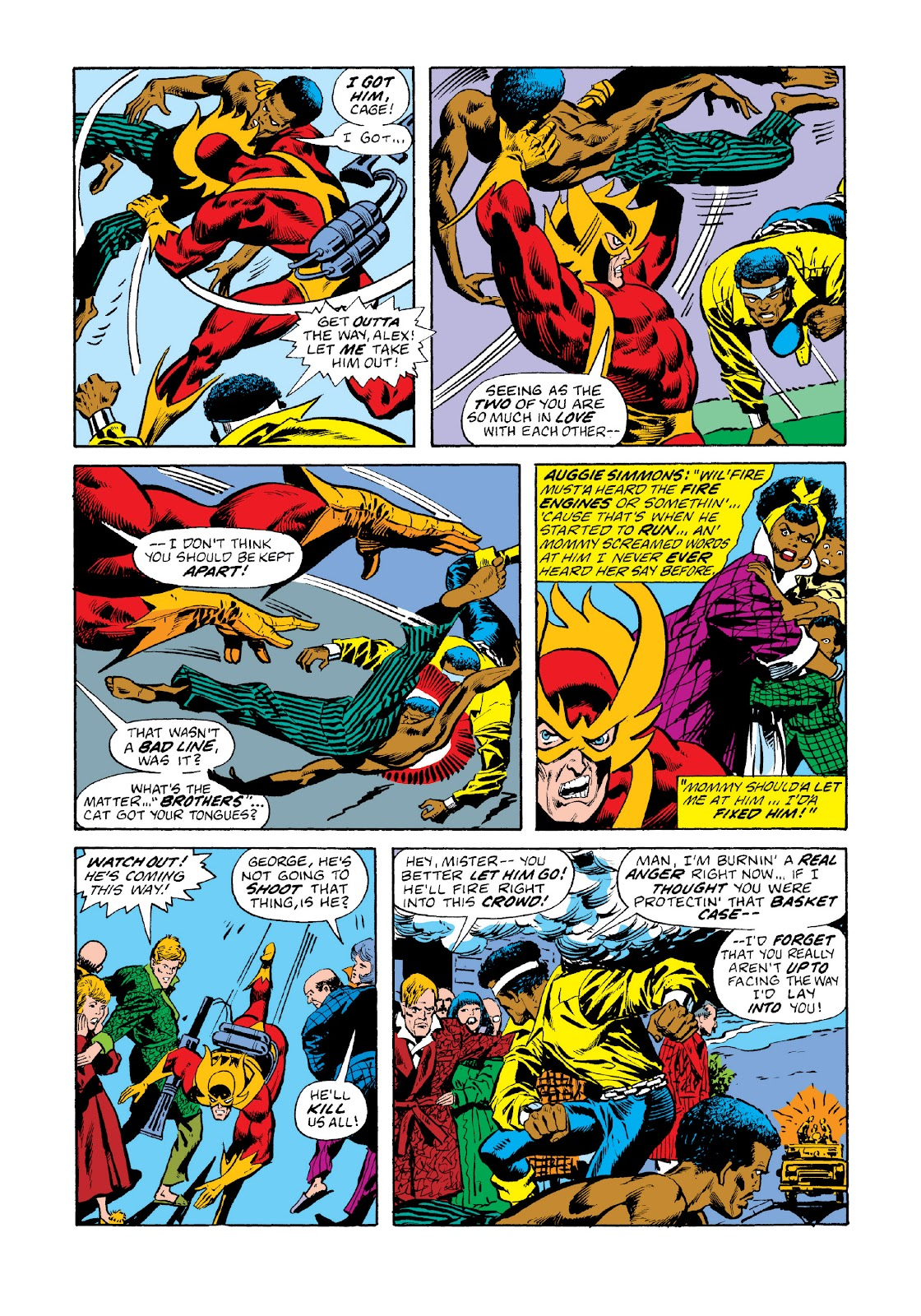 Read online Marvel Masterworks: Luke Cage, Power Man comic -  Issue # TPB 3 (Part 1) - 17