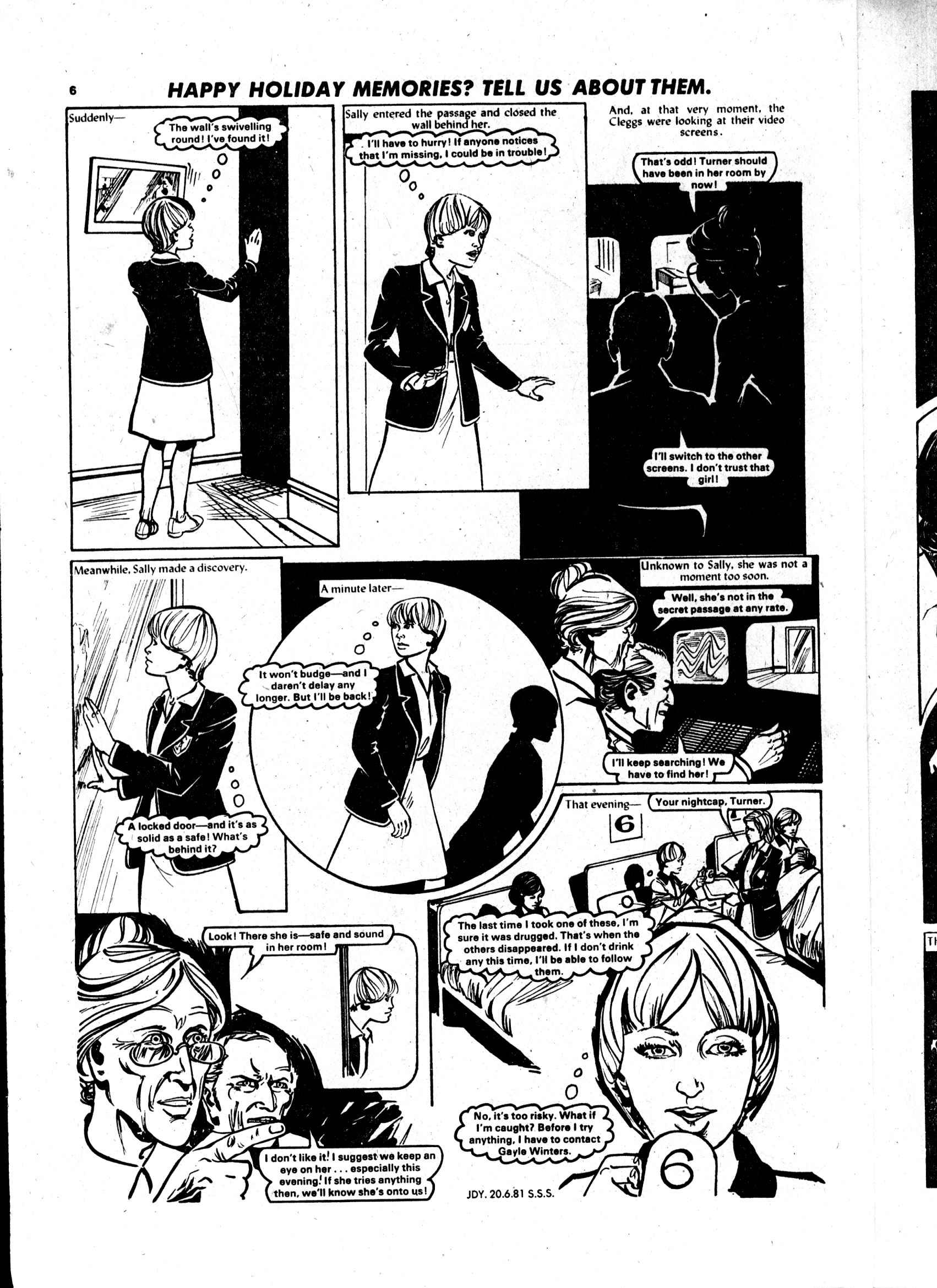 Read online Judy comic -  Issue #1119 - 6