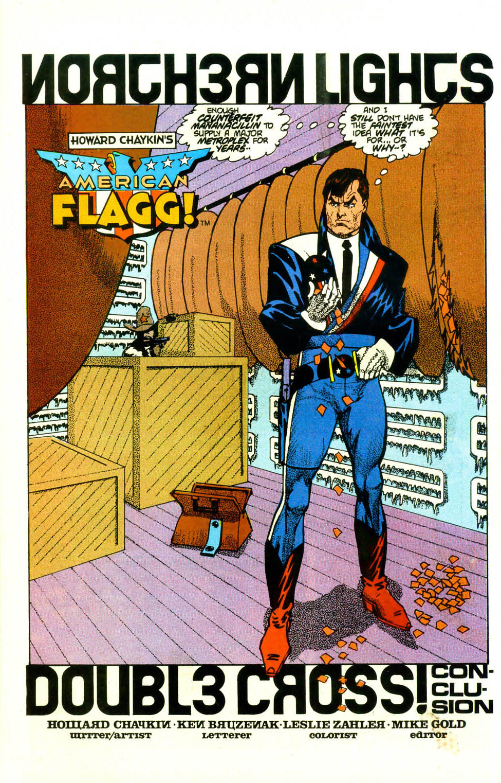 Read online American Flagg! comic -  Issue #18 - 5