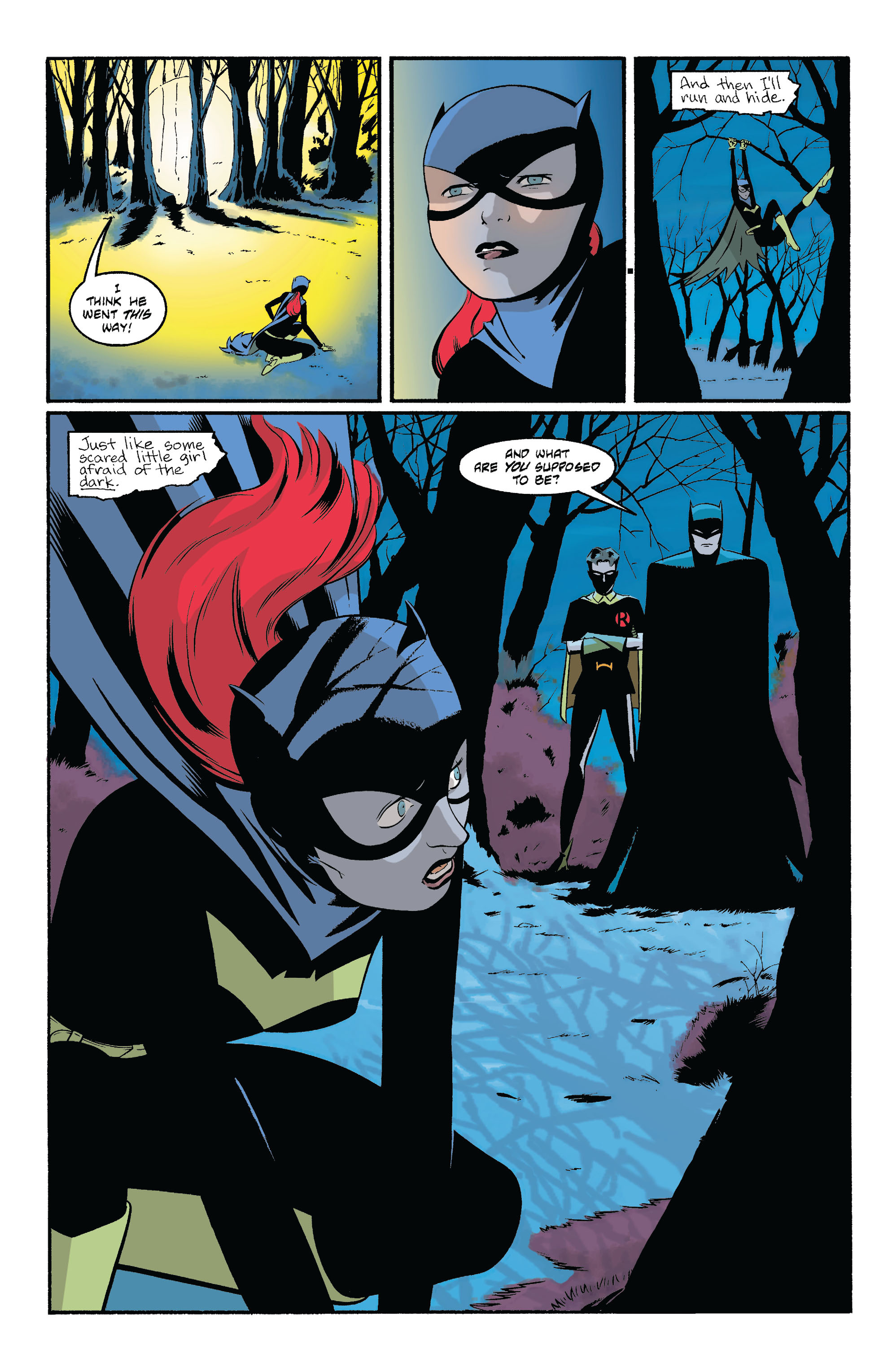 Read online Batgirl/Robin: Year One comic -  Issue # TPB 2 - 38