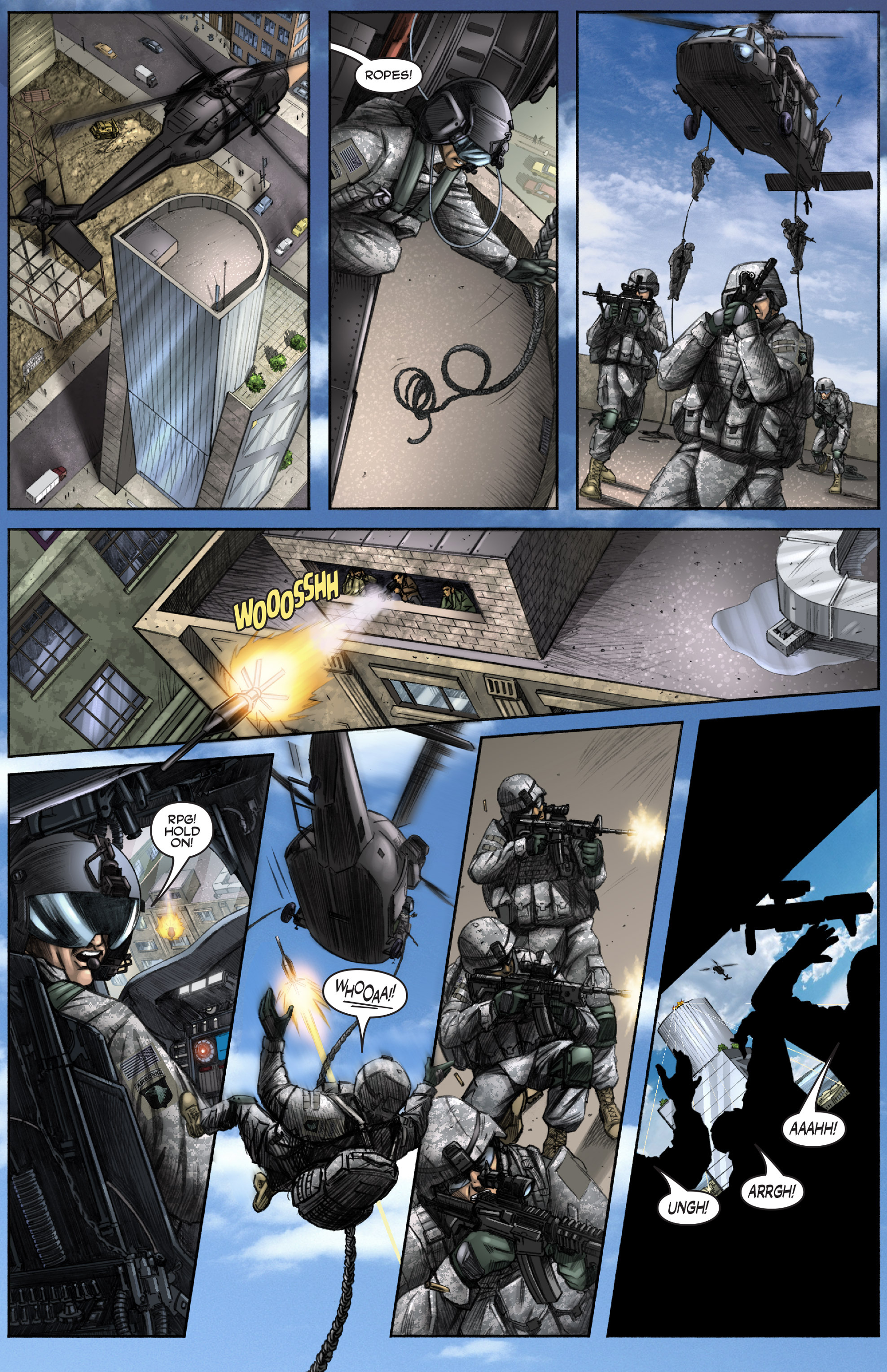 Read online America's Army comic -  Issue #0 - 11
