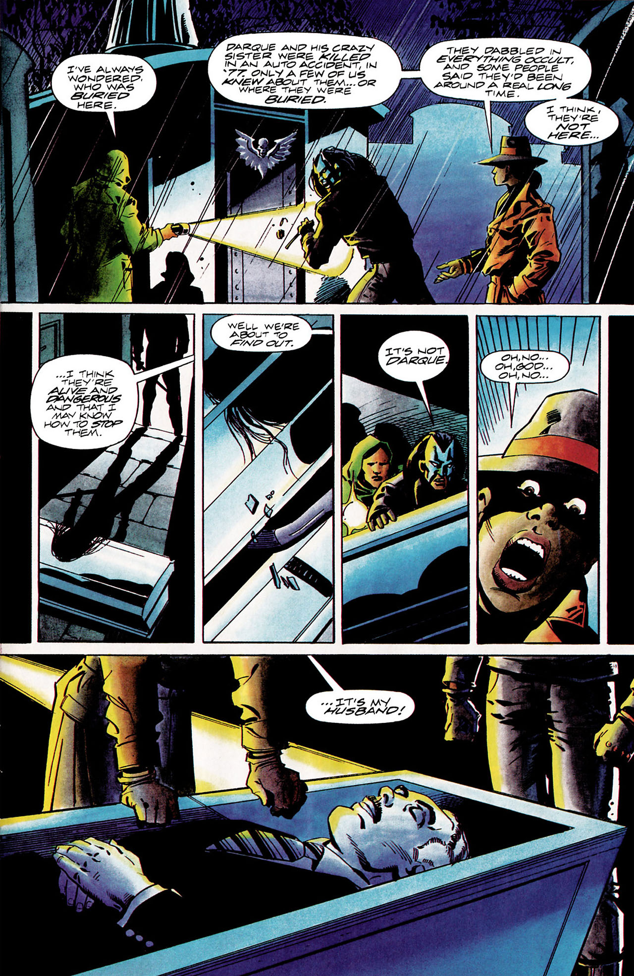 Read online Shadowman (1992) comic -  Issue #11 - 15