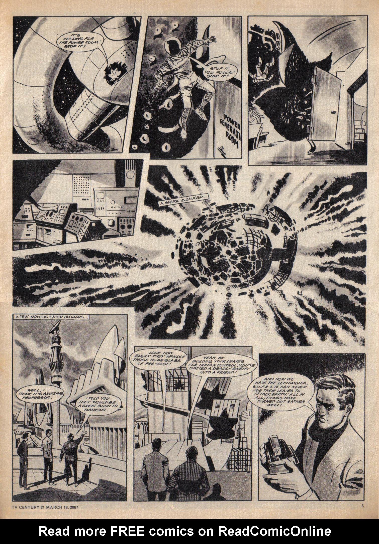 Read online TV Century 21 (TV 21) comic -  Issue #113 - 3