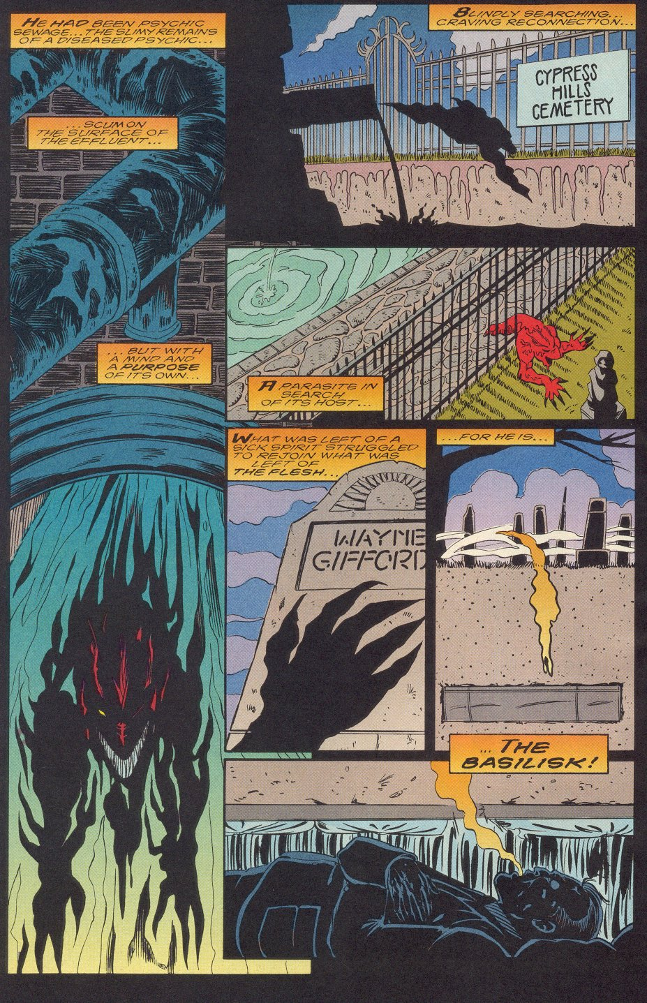 Comic Morbius: The Living Vampire (1992) issue 24