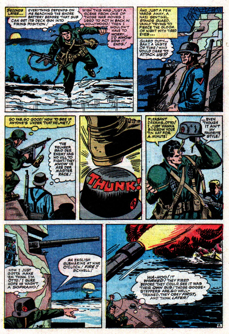Read online Sgt. Fury comic -  Issue #8 - 12
