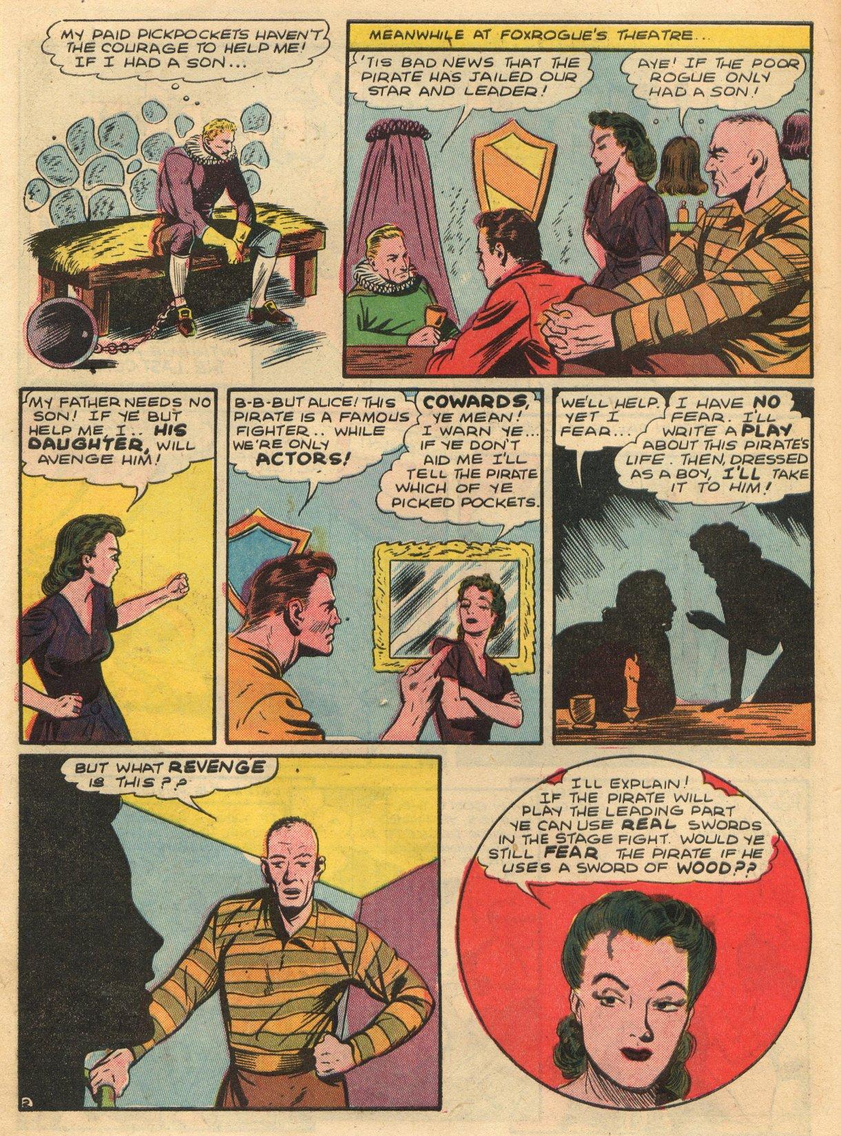 Read online Sensation (Mystery) Comics comic -  Issue #22 - 18