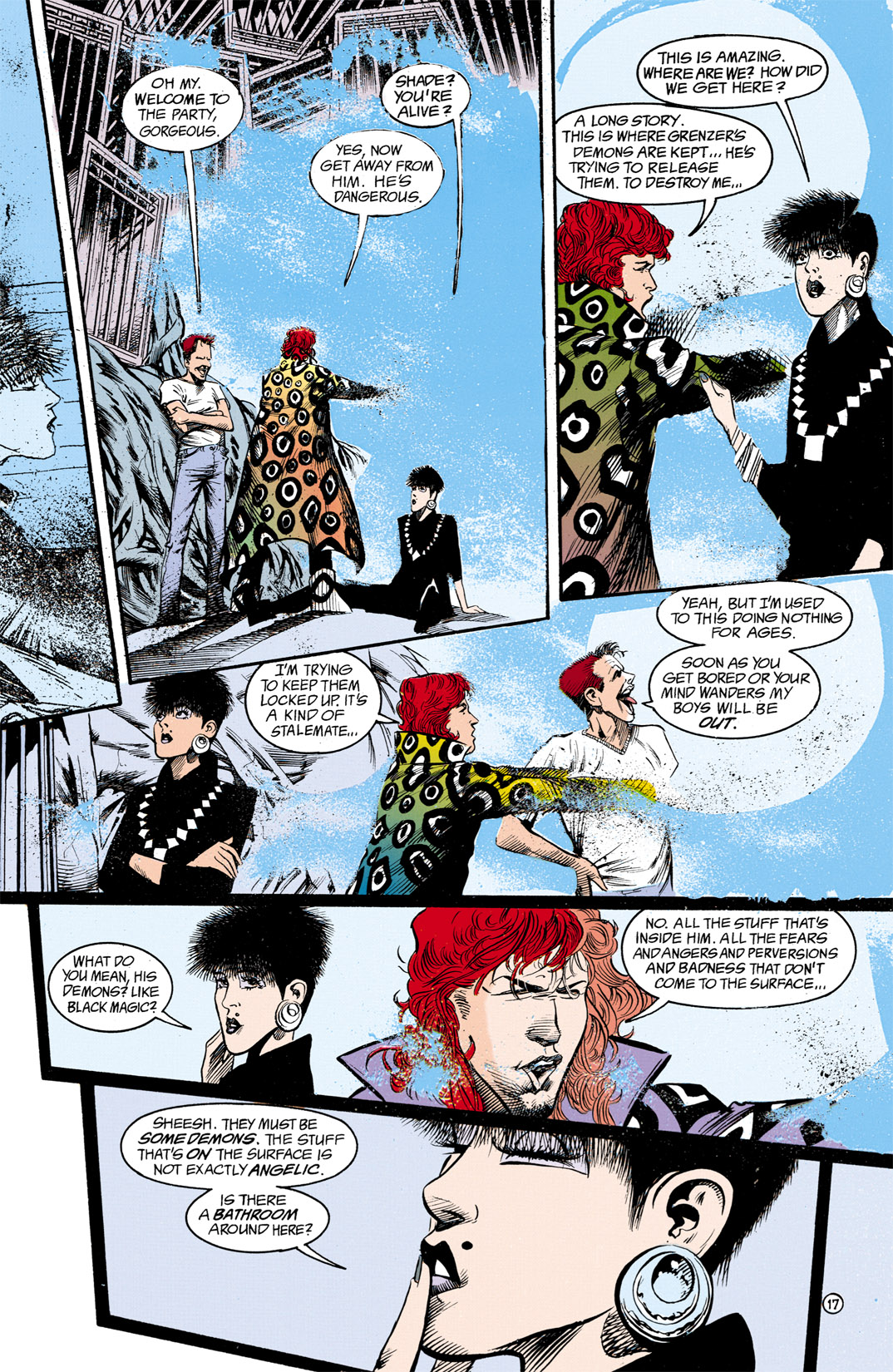 Read online Shade, the Changing Man comic -  Issue #13 - 18