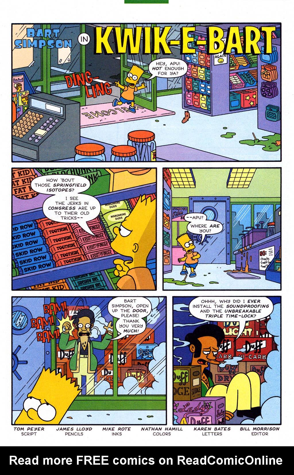 Read online Simpsons Comics Presents Bart Simpson comic -  Issue #23 - 21