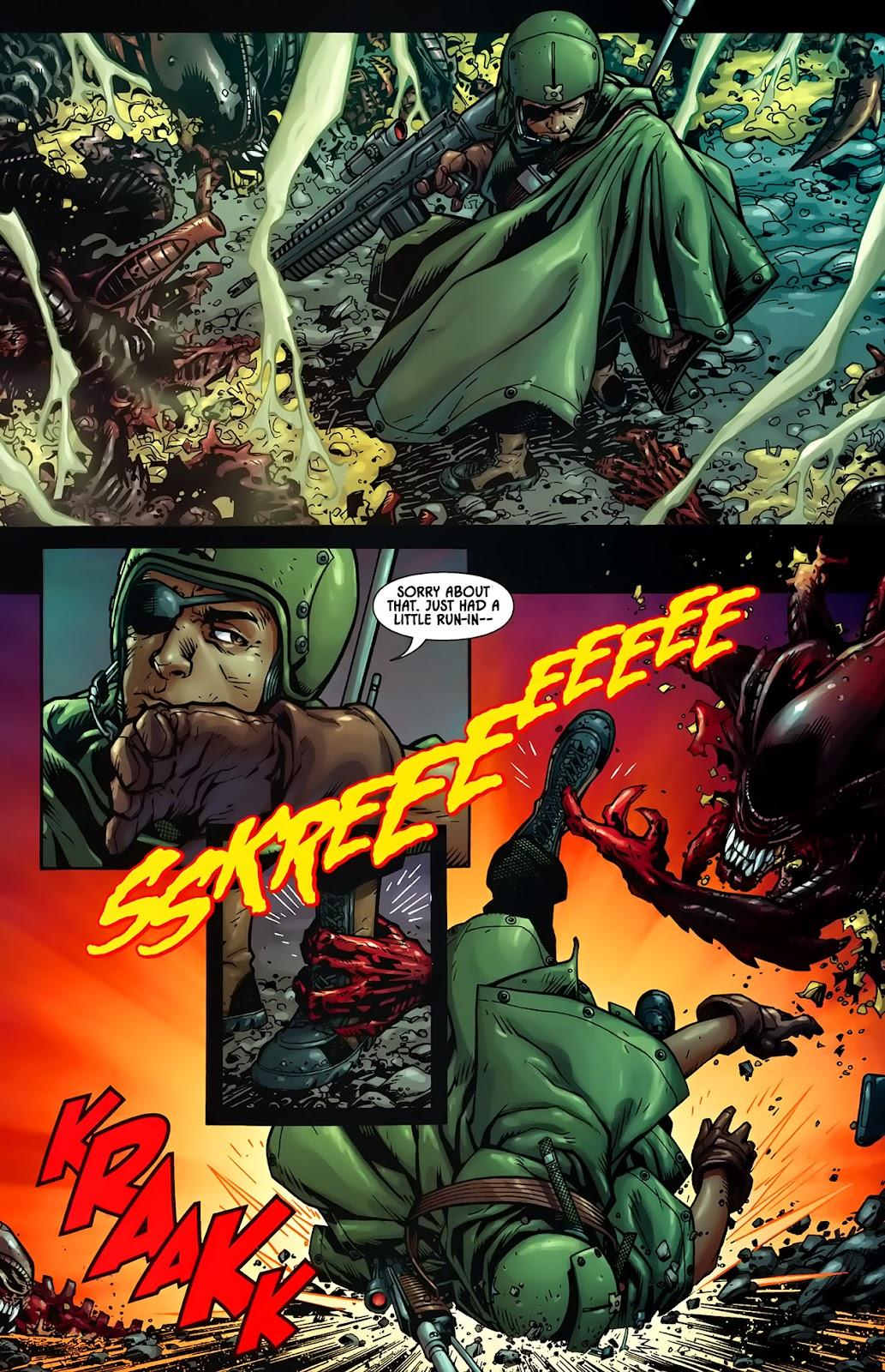 Read online Aliens (2009) comic -  Issue #1 - 6