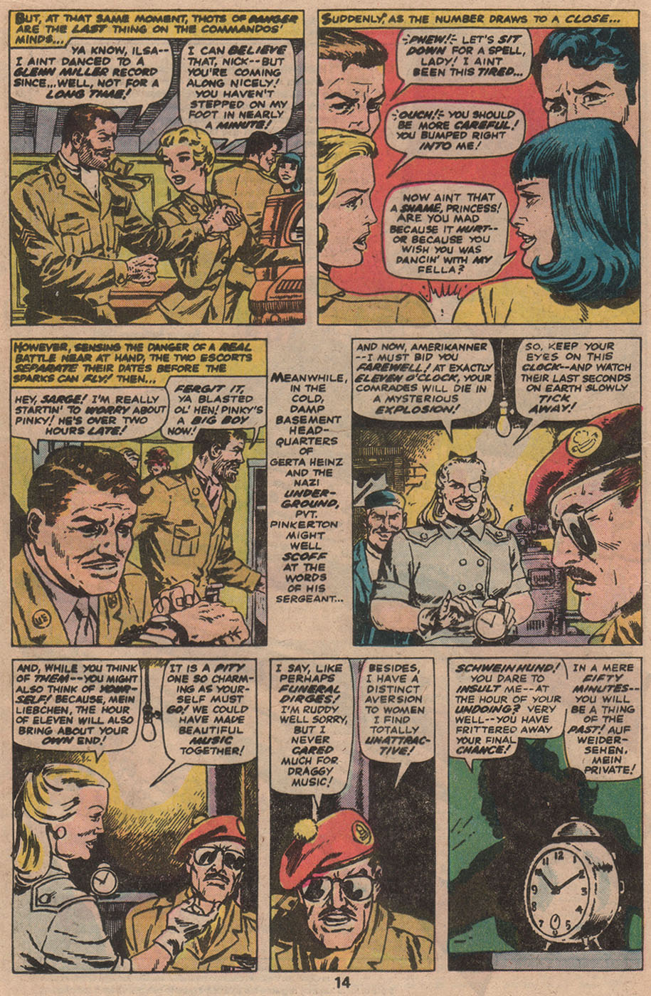 Read online Sgt. Fury comic -  Issue #142 - 16
