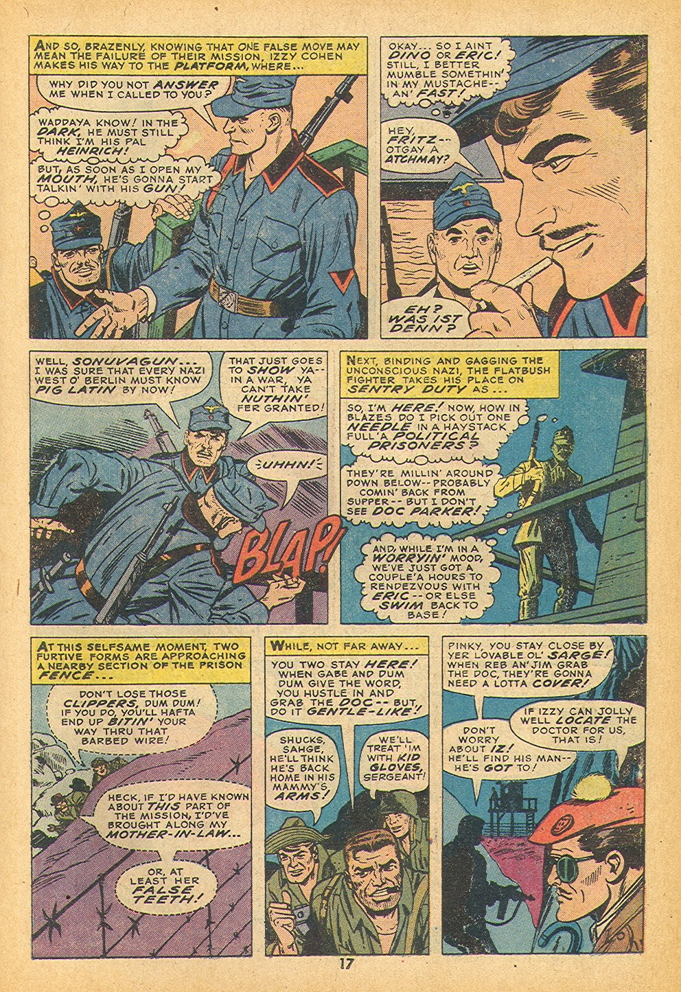 Read online Sgt. Fury comic -  Issue #109 - 19
