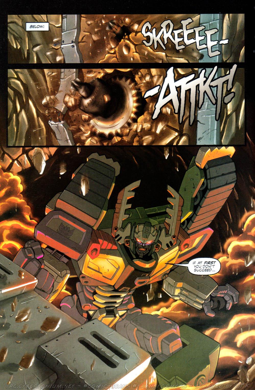Read online Transformers Armada comic -  Issue #10 - 16