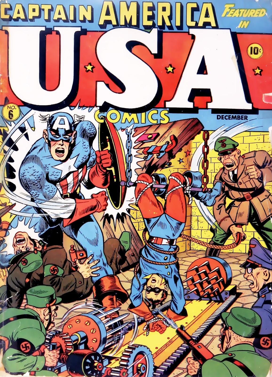 USA Comics 6 Page 1