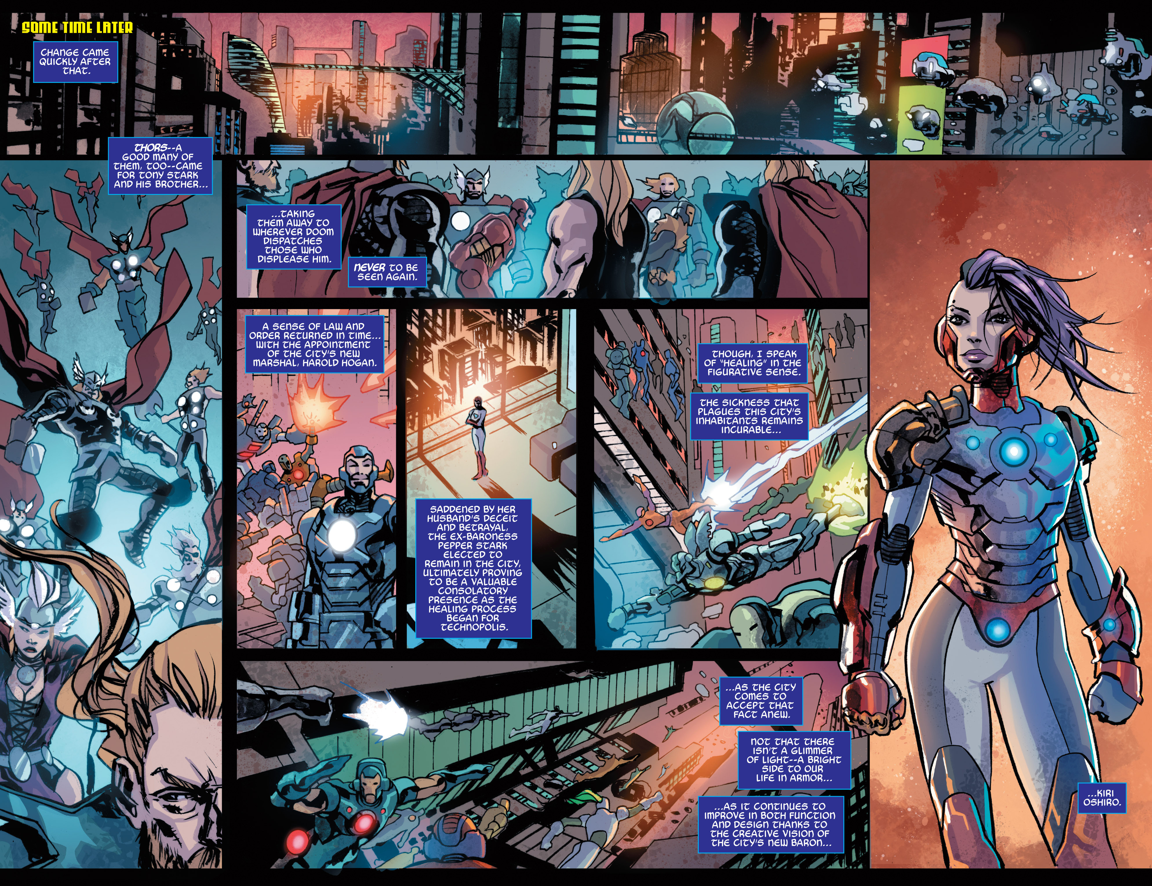 Read online Armor Wars comic -  Issue #5 - 19