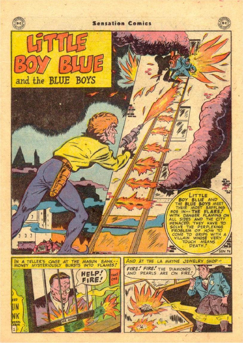 Read online Sensation (Mystery) Comics comic -  Issue #70 - 15