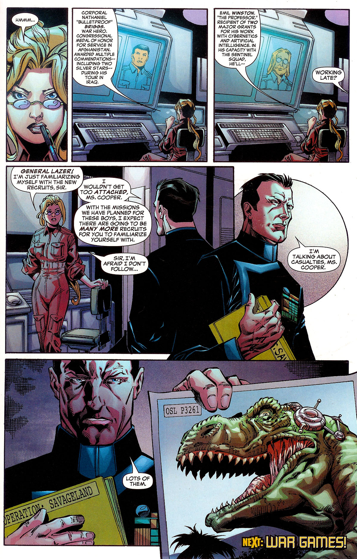 Read online Sentinel Squad O*N*E comic -  Issue #1 - 22