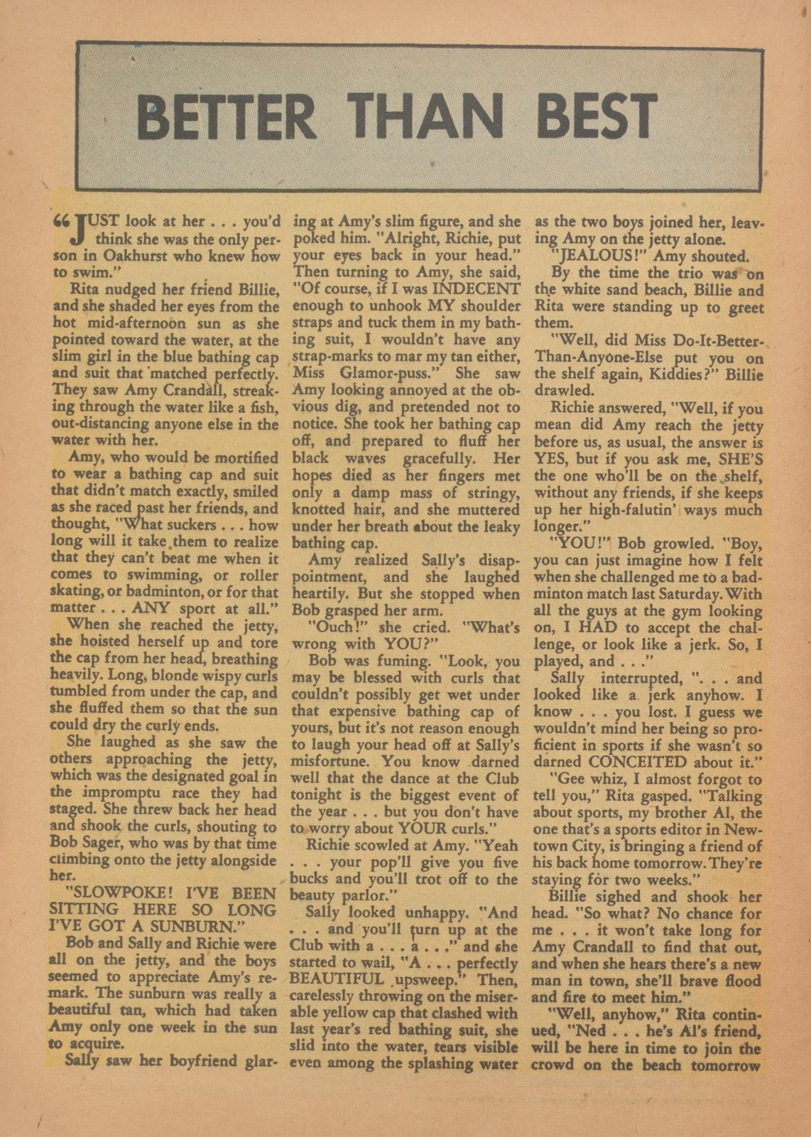 Read online Nellie The Nurse (1945) comic -  Issue #35 - 16