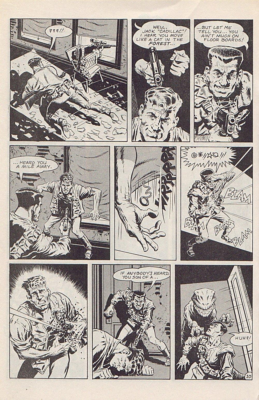 Read online Xenozoic Tales comic -  Issue #1 - 13