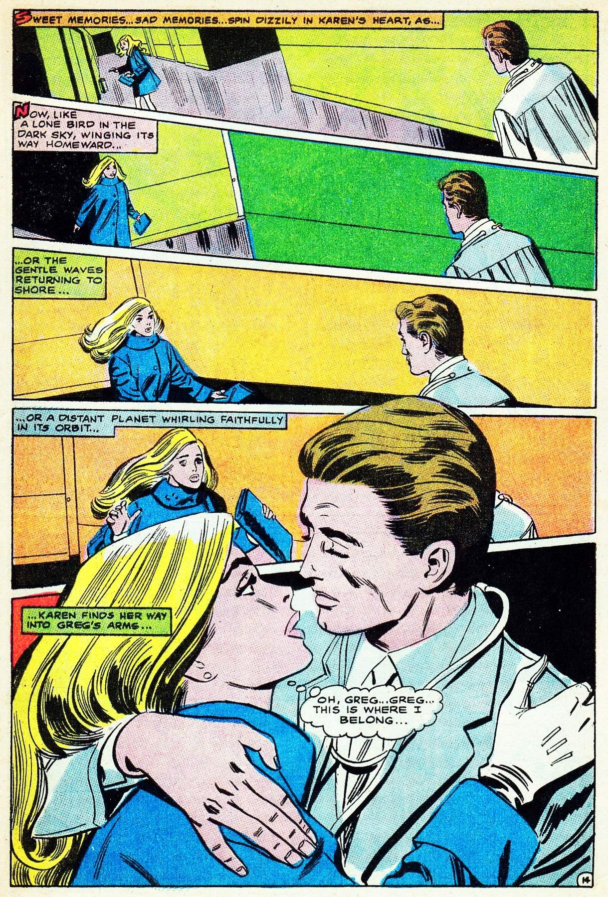 Read online Secret Hearts comic -  Issue #133 - 33