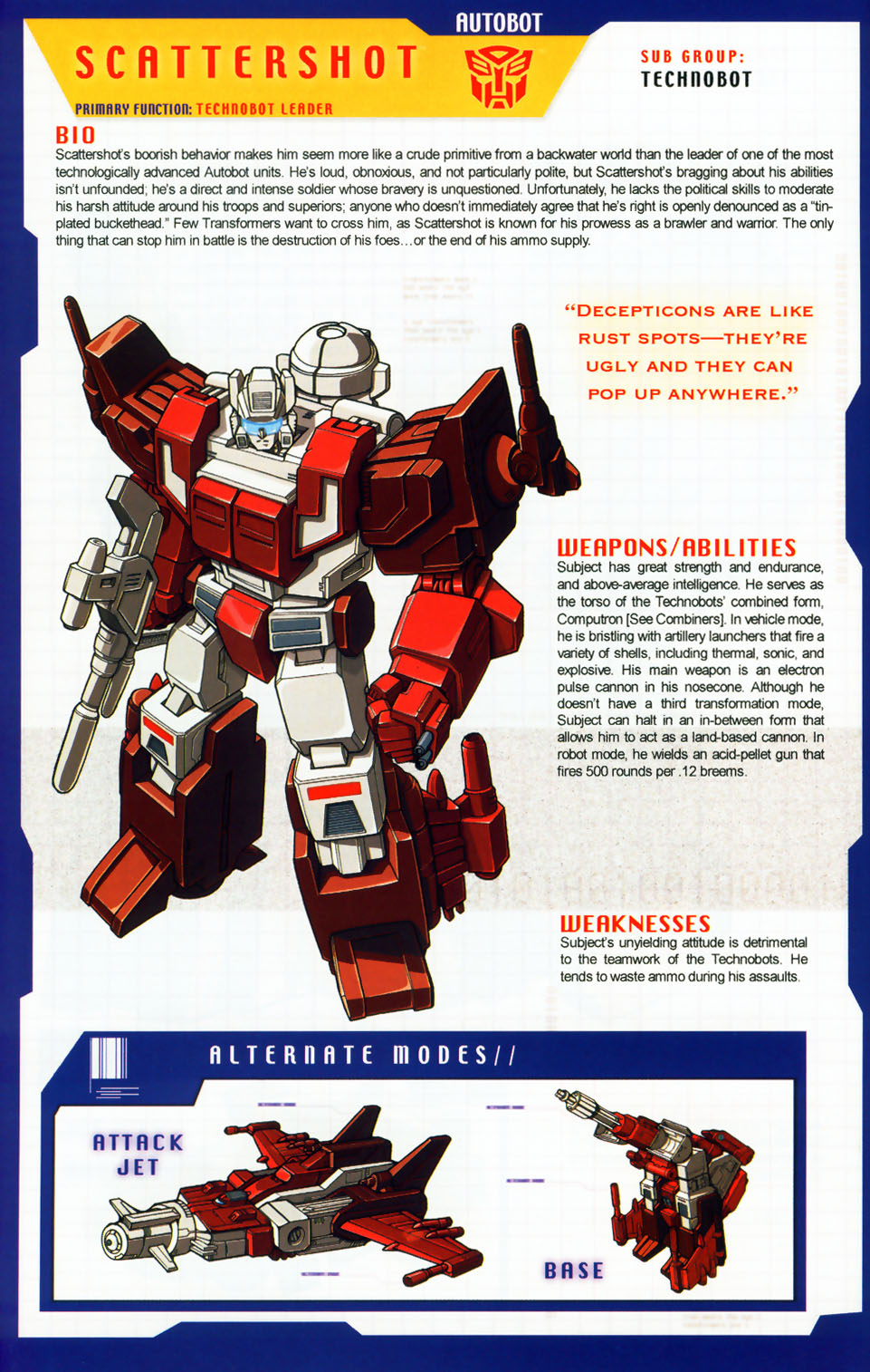 Read online Transformers: More than Meets the Eye comic -  Issue #7 - 8