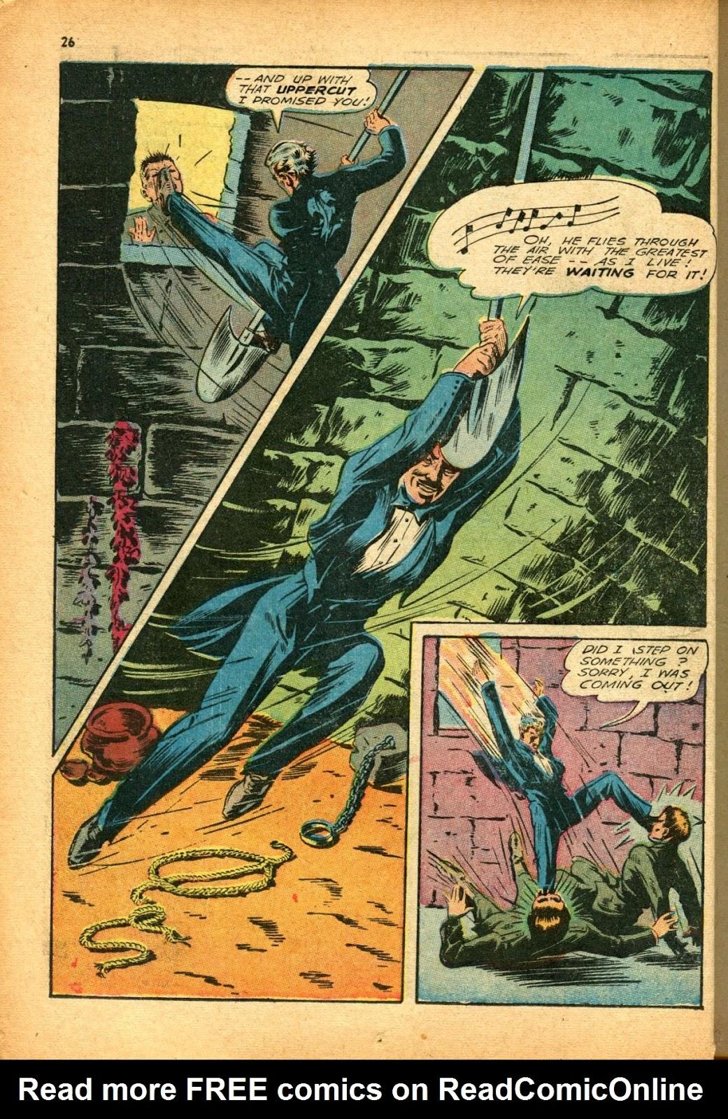 Read online Super-Magician Comics comic -  Issue #12 - 26