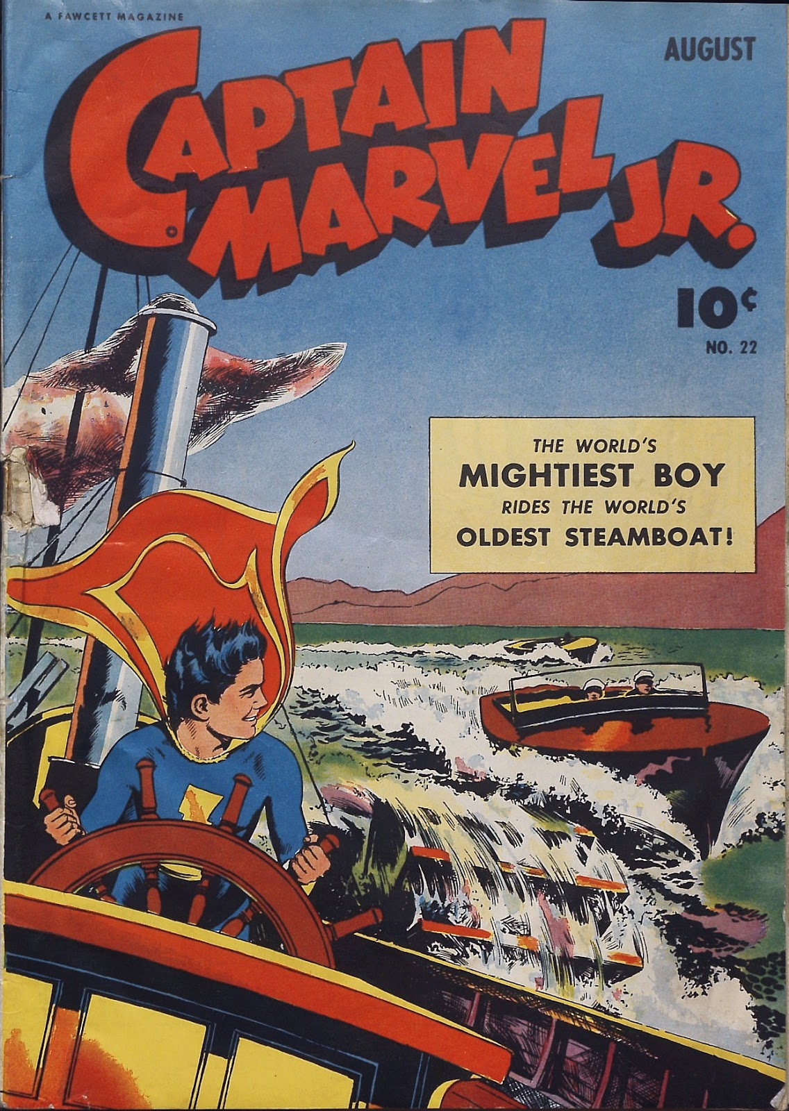 Captain Marvel, Jr. issue 22 - Page 1