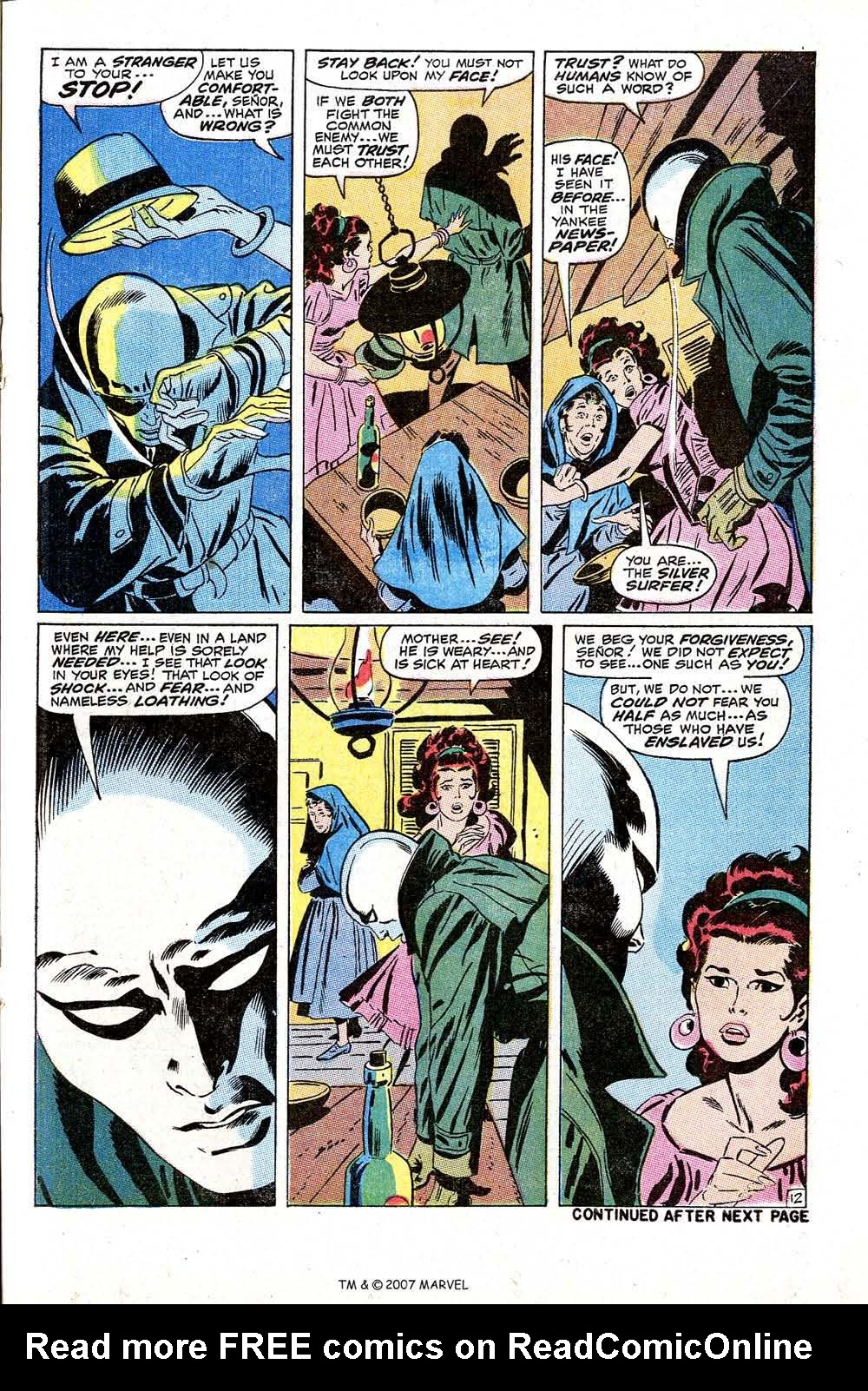 Read online Silver Surfer (1968) comic -  Issue #10 - 21