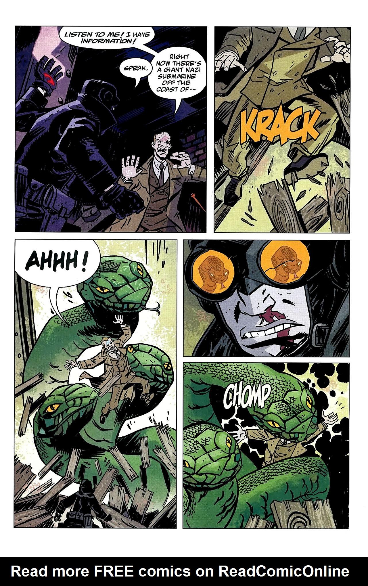 Read online Lobster Johnson: The Iron Prometheus comic -  Issue #2 - 19