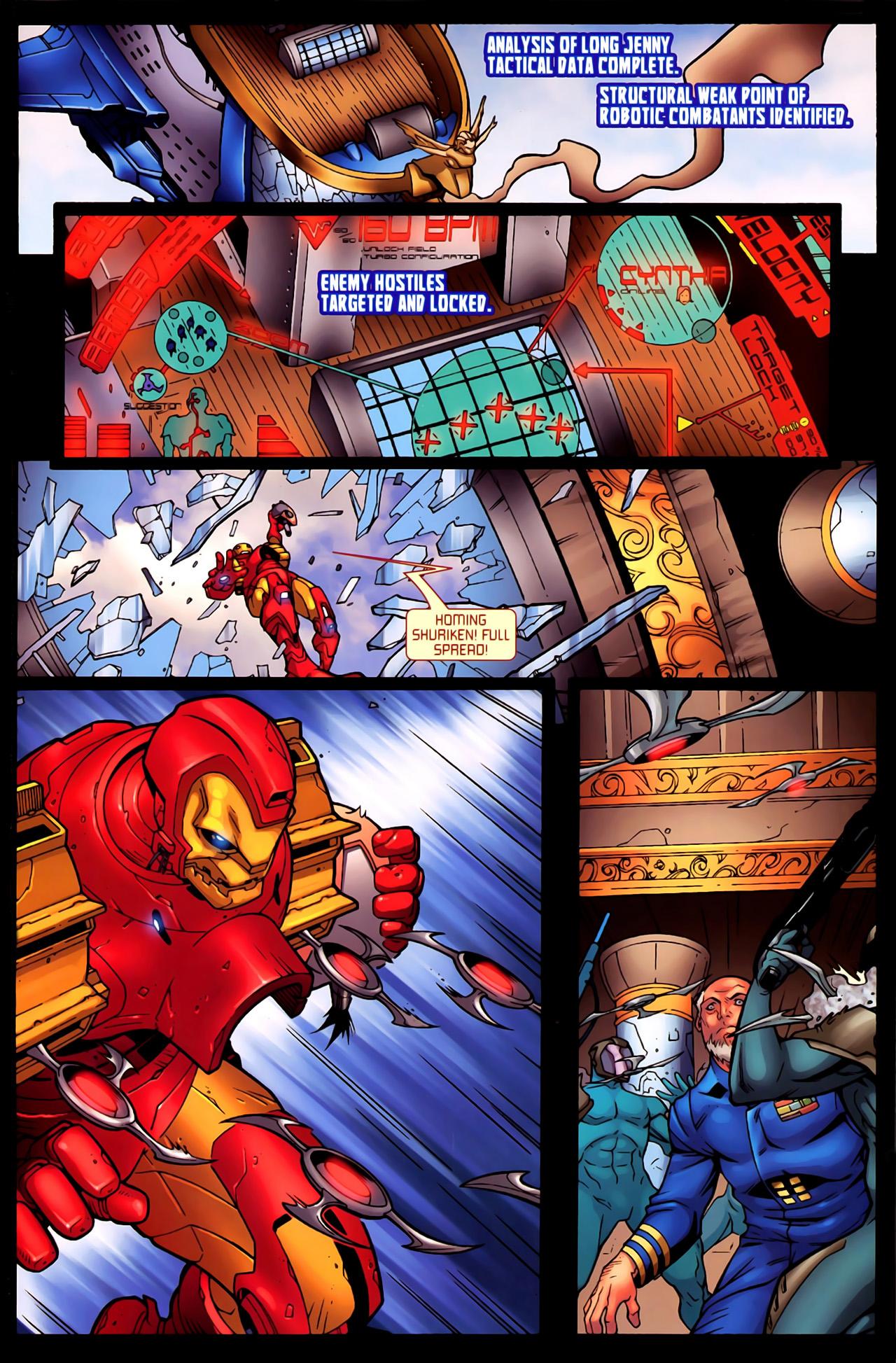 Read online Astonishing Tales (2009) comic -  Issue #6 - 14