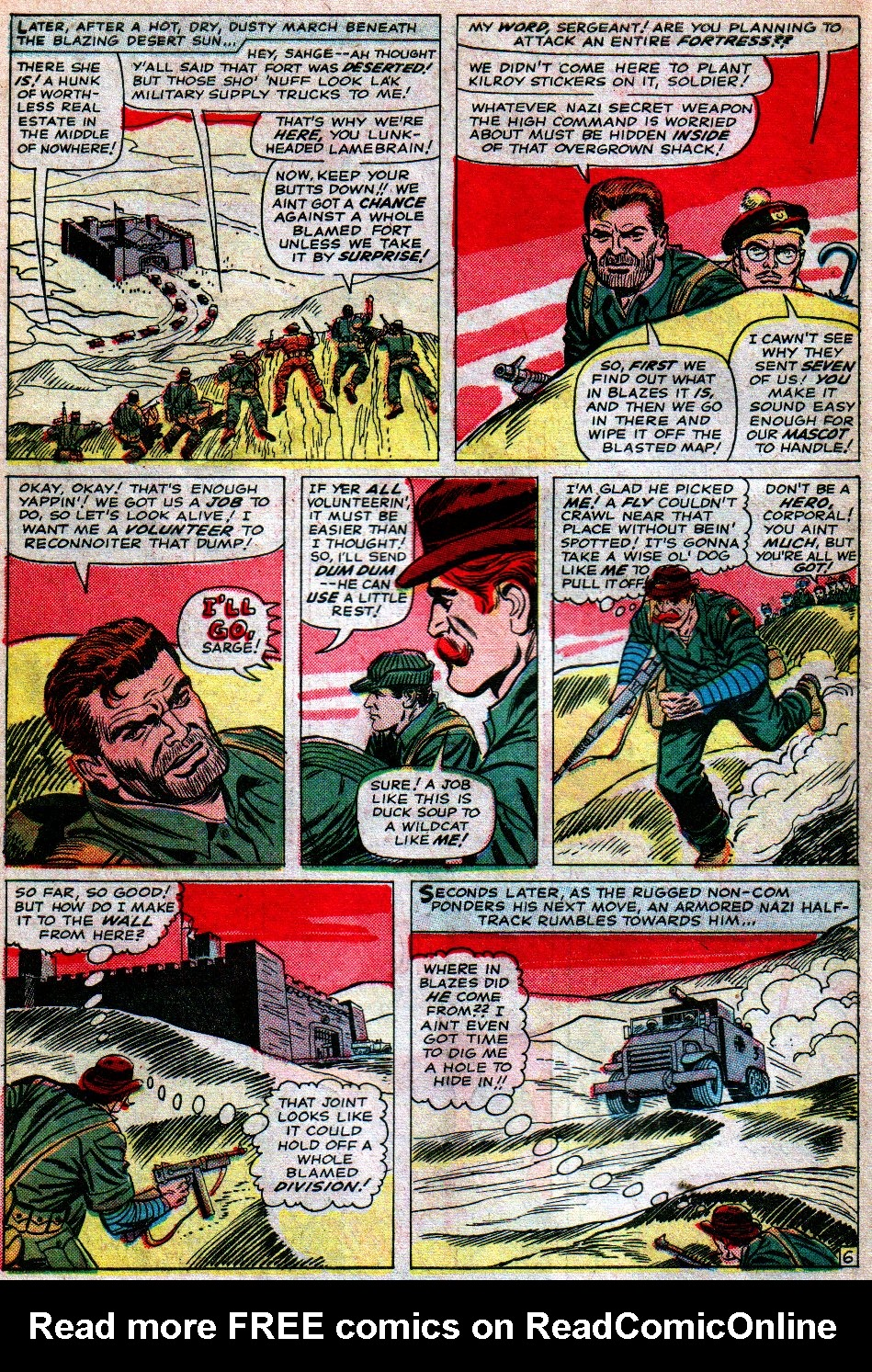 Read online Sgt. Fury comic -  Issue #16 - 10