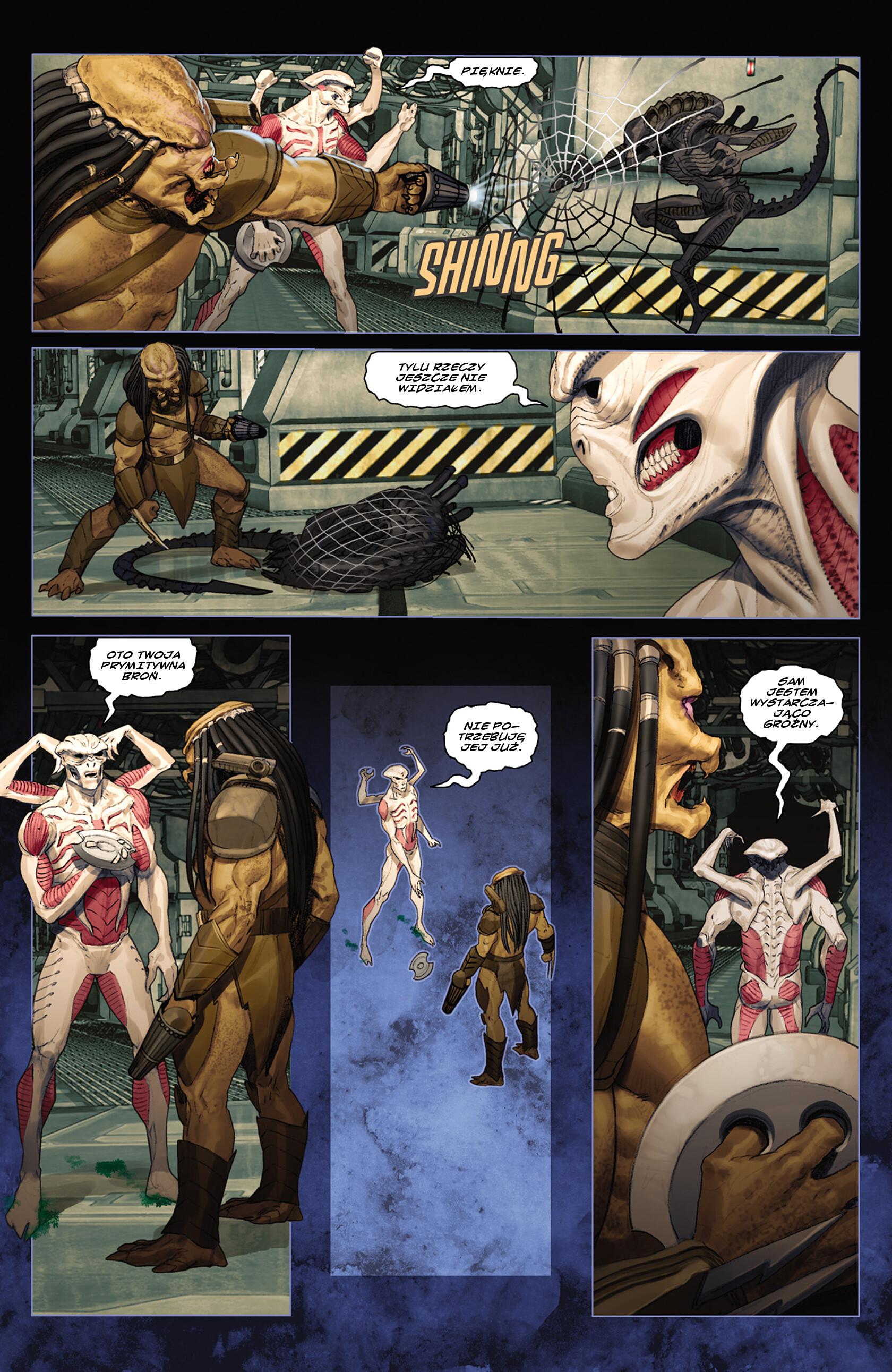 Read online Alien vs. Predator: Fire and Stone comic -  Issue #3 - 13